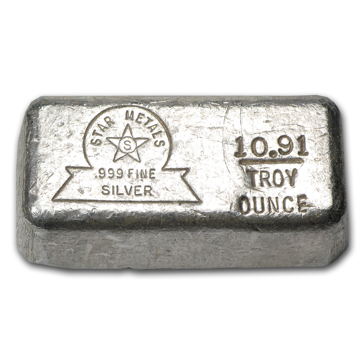 10.91 oz Silver Bar - Star Metals
