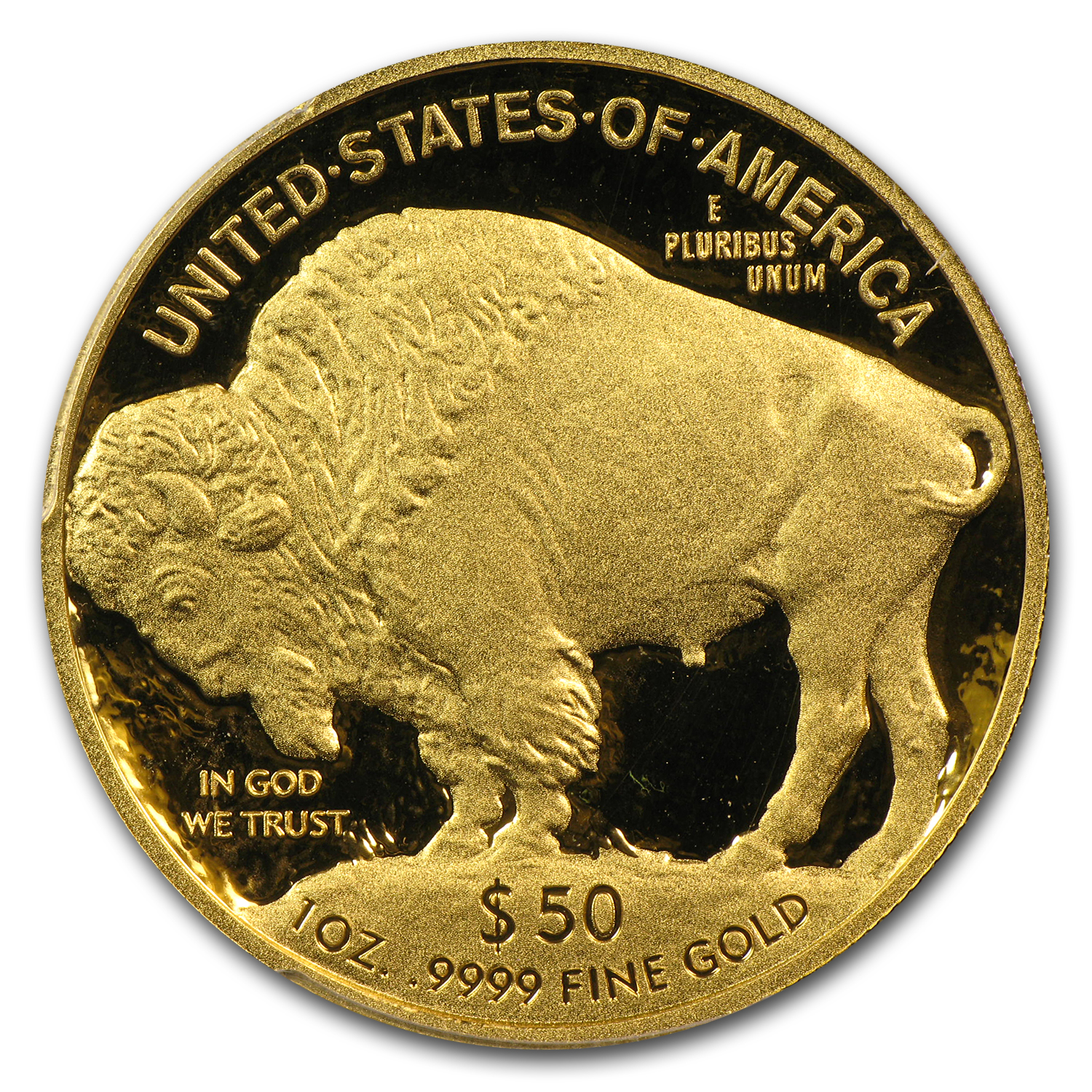 2012-W 1 oz Proof Gold Buffalo PR-70 DCAM PCGS (Black Diamond)