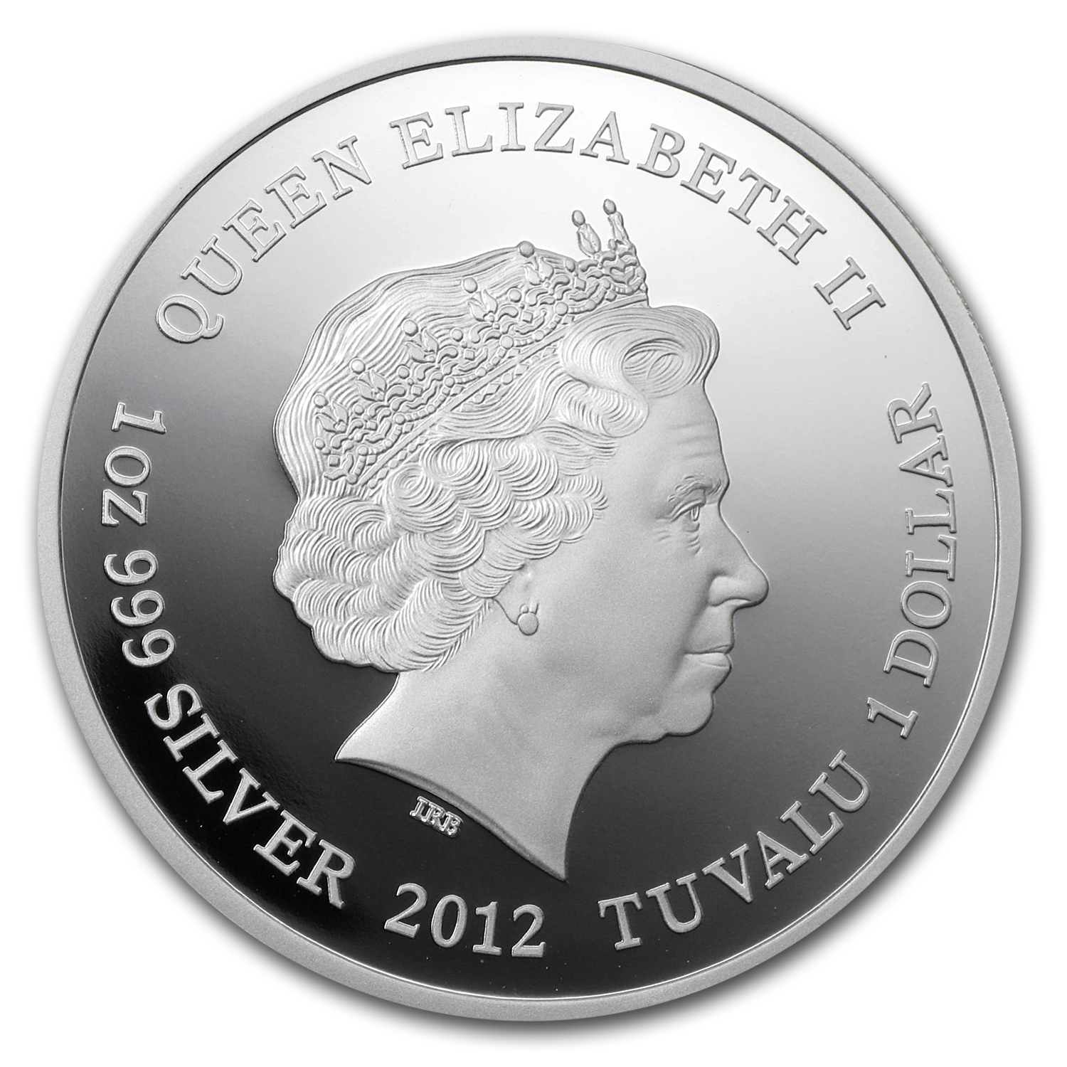 2012 Tuvalu 1 oz Silver Marilyn Monroe Proof
