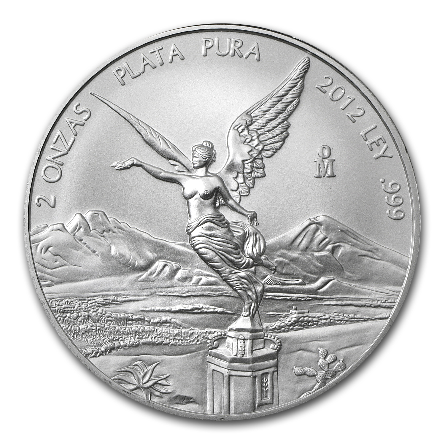 2012 2 oz Silver Mexican Libertad (Brilliant Uncirculated)