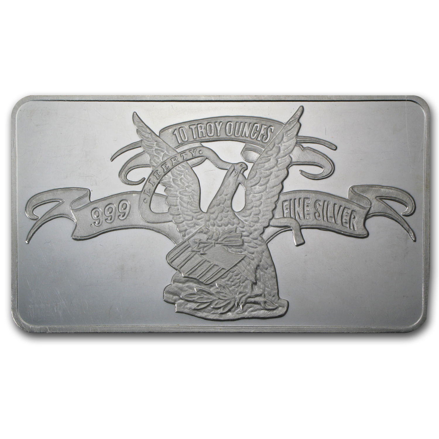 10 oz Silver Bar - APMEX (Original Design)