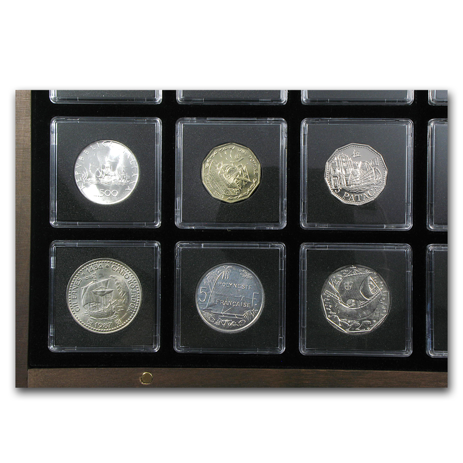 World Ship Collection 20 Coins from Around the World