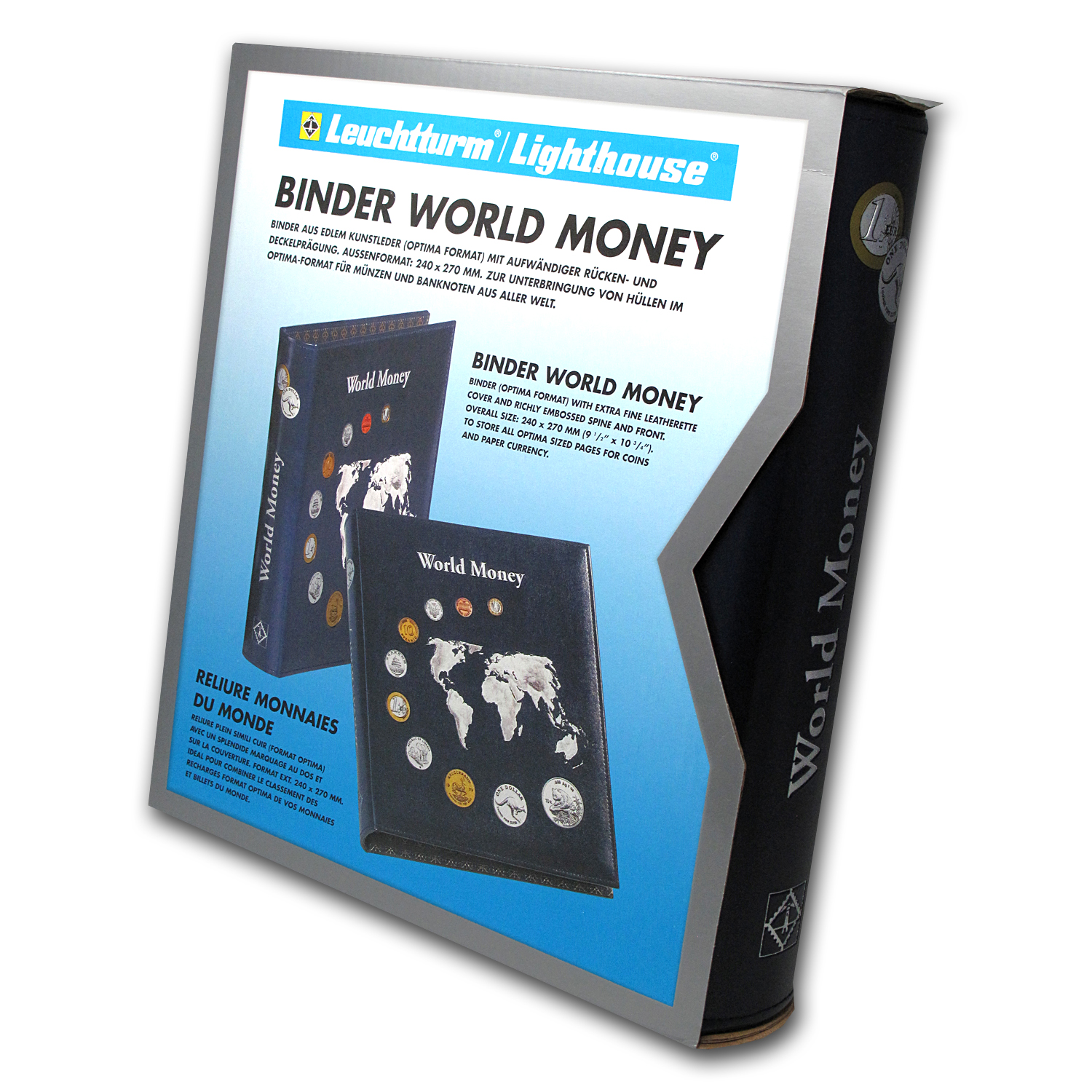 World Money Binder - World Coin Sets