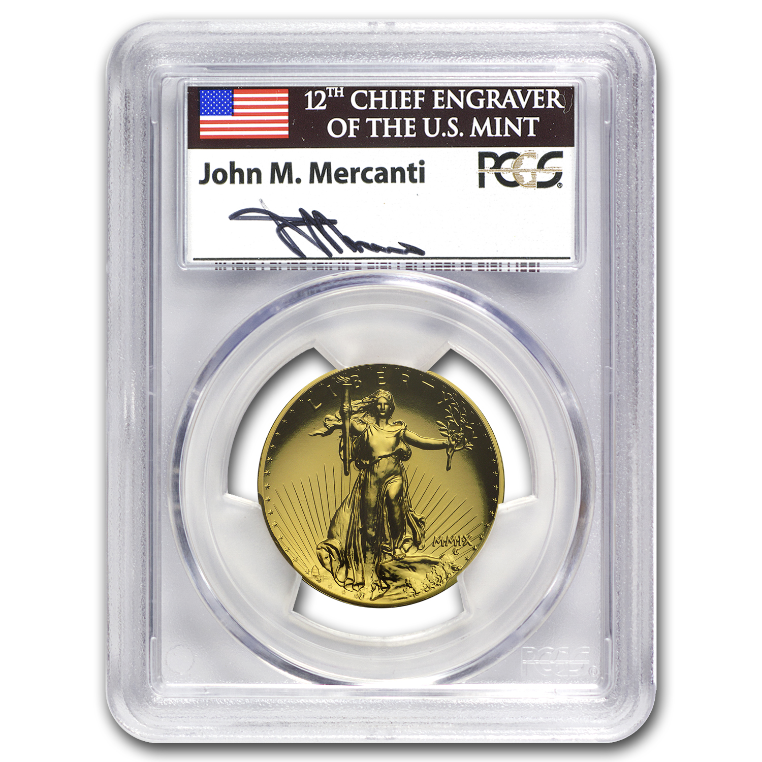 2009 Ultra High Relief Double Eagle MS-69 PL PCGS (John Mercanti)