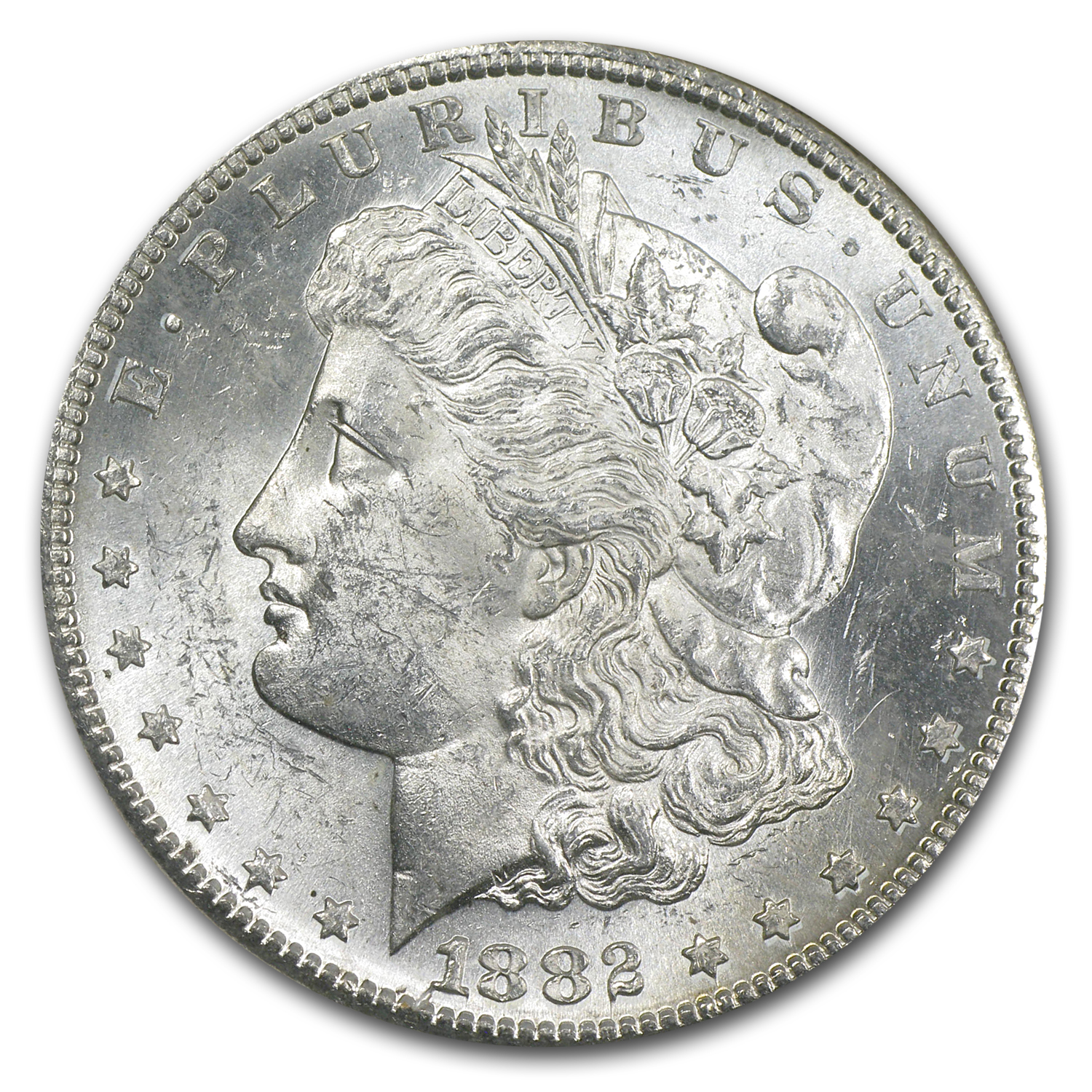 1878-1904 Morgan Dollars BU NGC