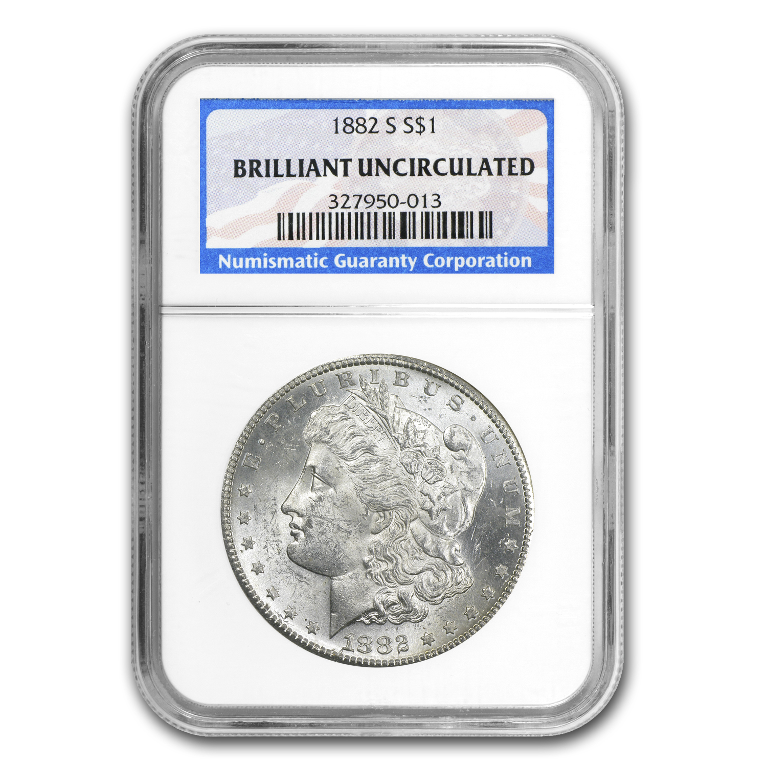 1878-1904 Morgan Dollars - Brilliant Uncirculated - NGC