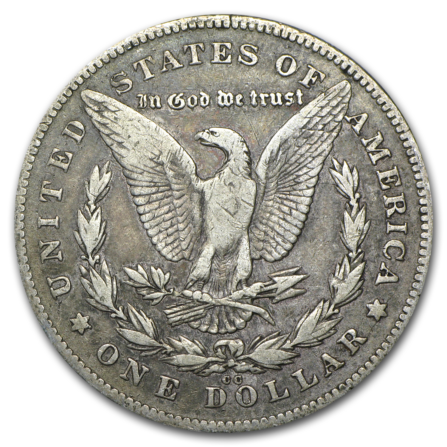 1878-CC Morgan Dollar VF Details (Graffiti)