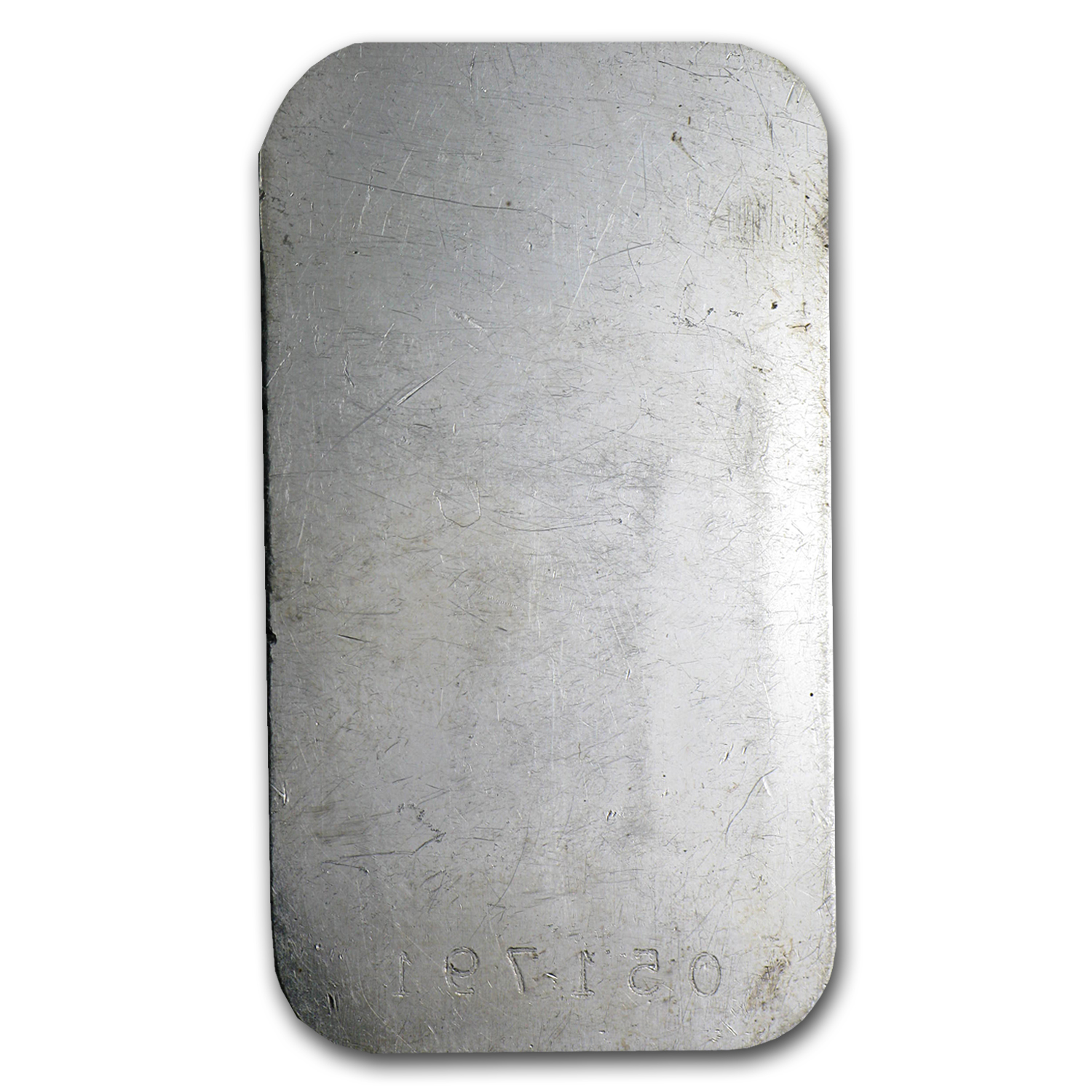 1 oz Silver Bar - Engelhard (Maple, Smooth, No Border)