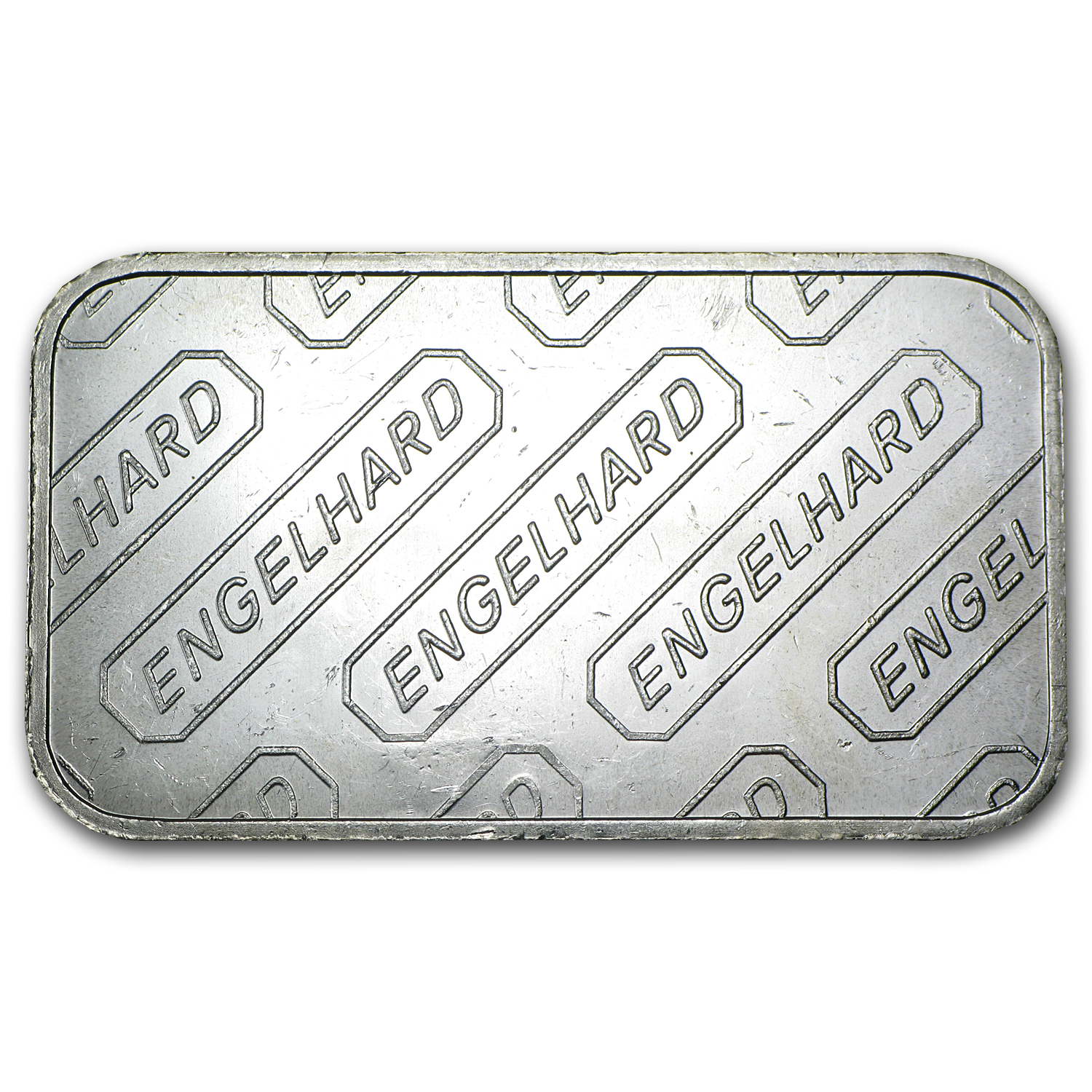 1 oz Silver Bar - Engelhard (Wide Logo, 5-digit)