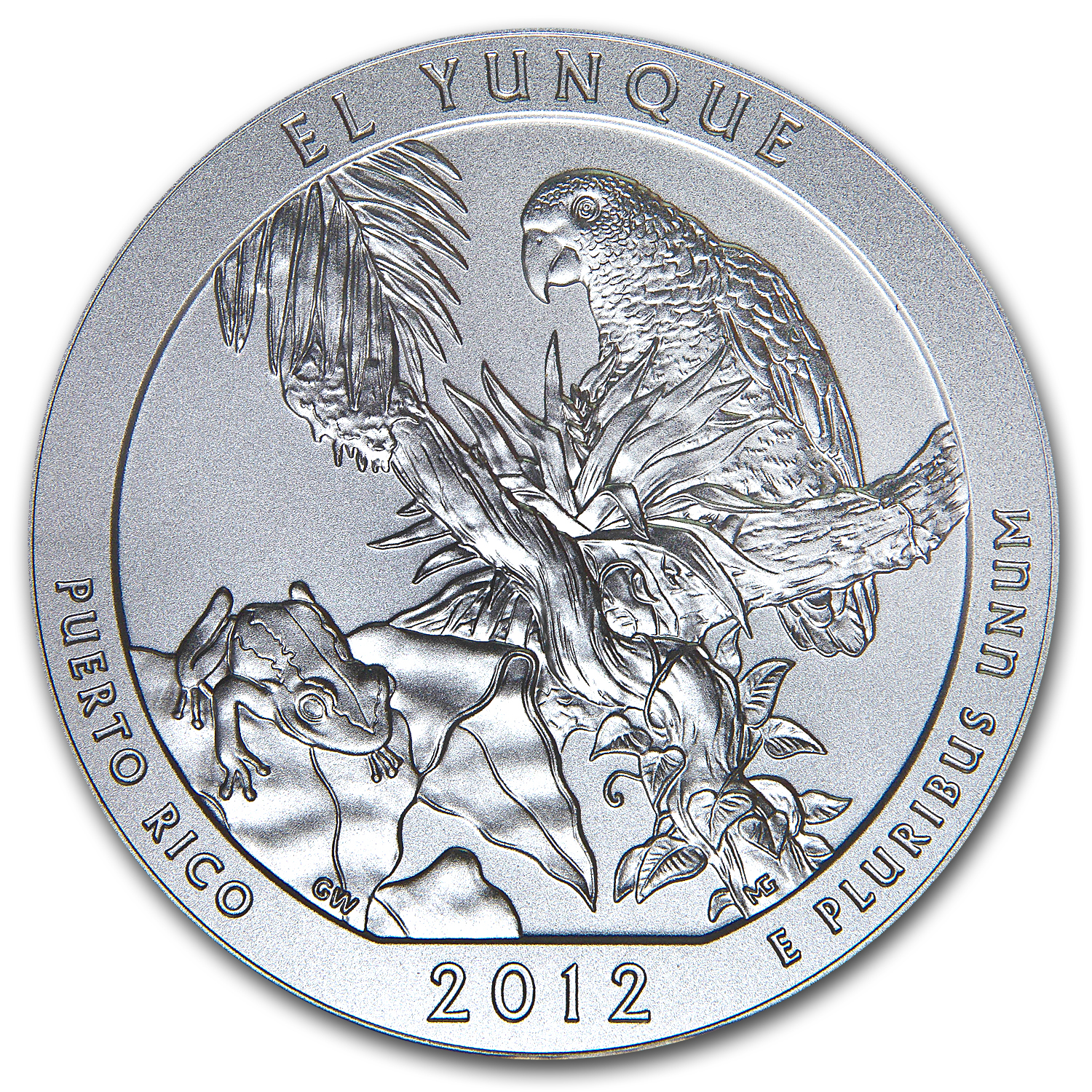 2012-P 5 oz El Yunque SP-70 First Strike PCGS Edmund Moy Label