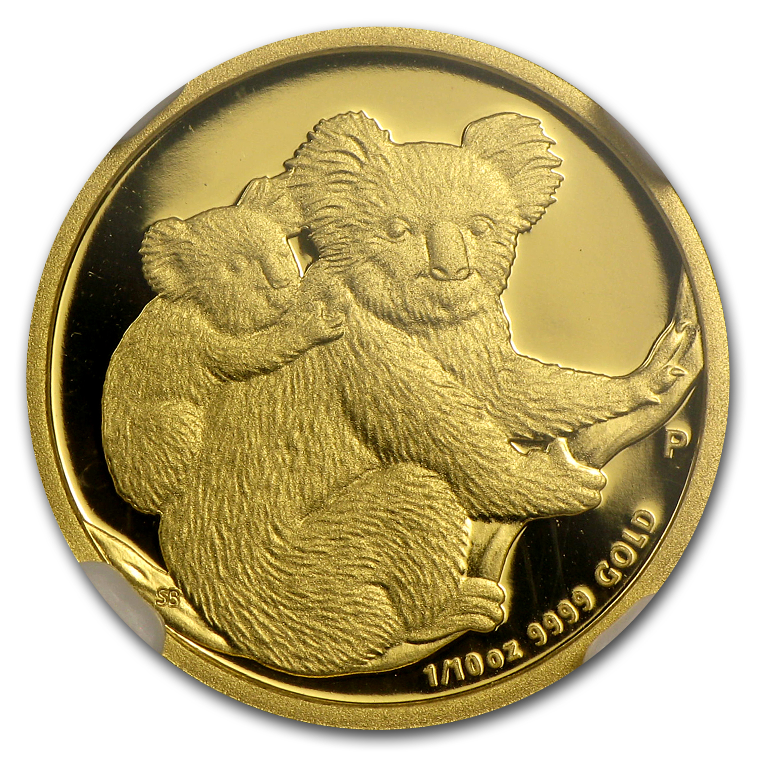 2008 1/10 oz Proof Gold Koala PF-70 UCAM NGC