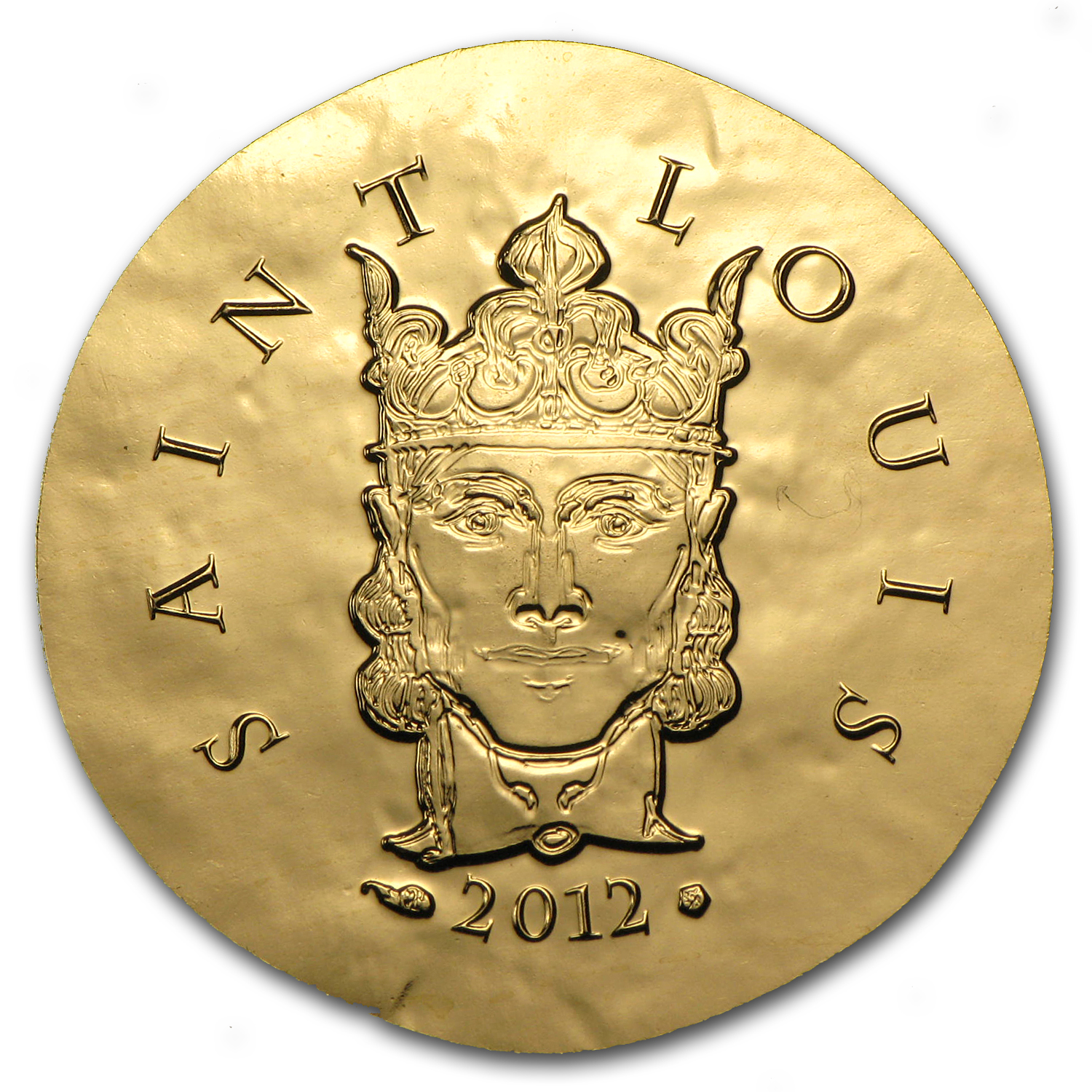 2012 1/4 oz Gold €50 Proof Legendary Collection - Saint-Louis