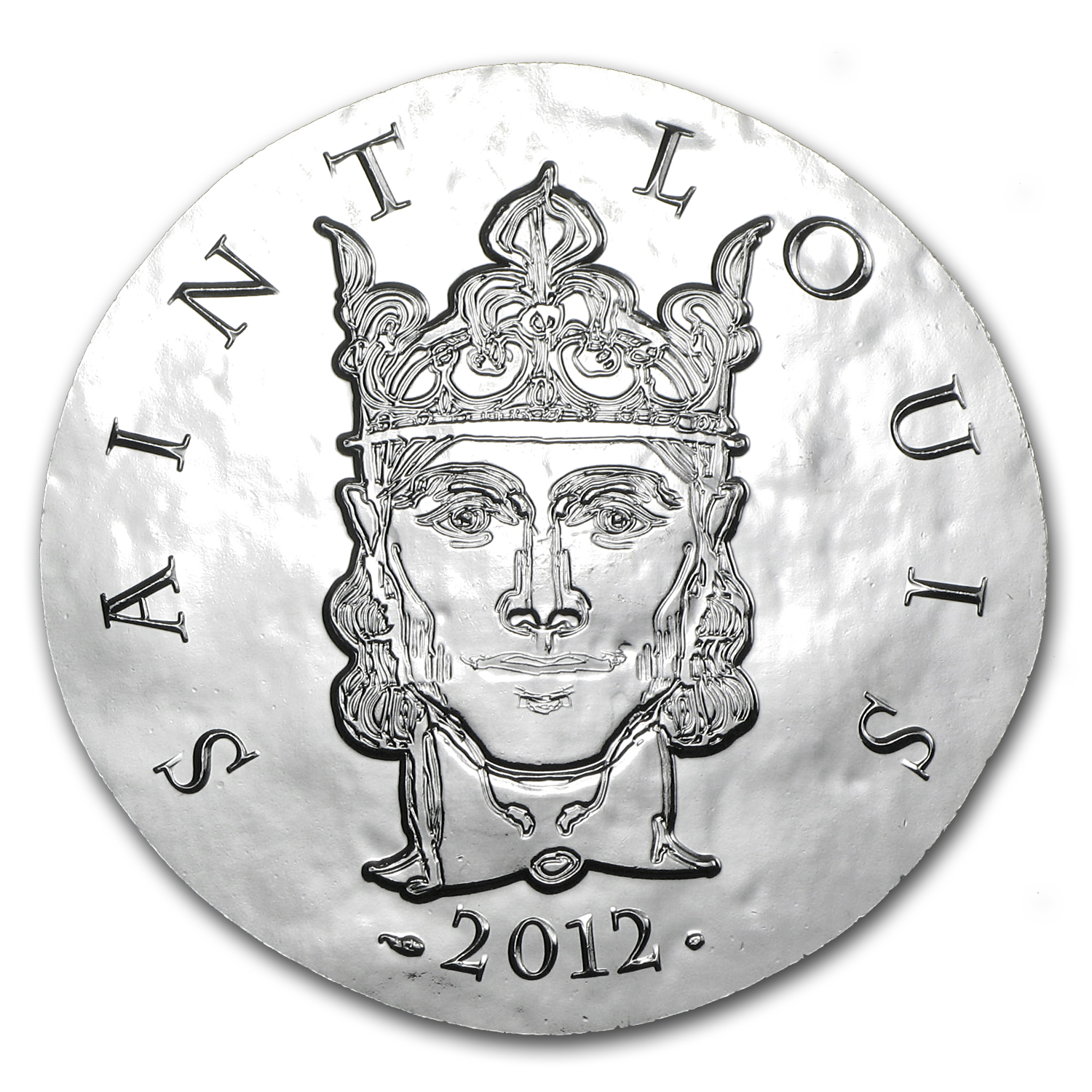 2012 €10 Silver Proof Legendary Collection - Saint-Louis