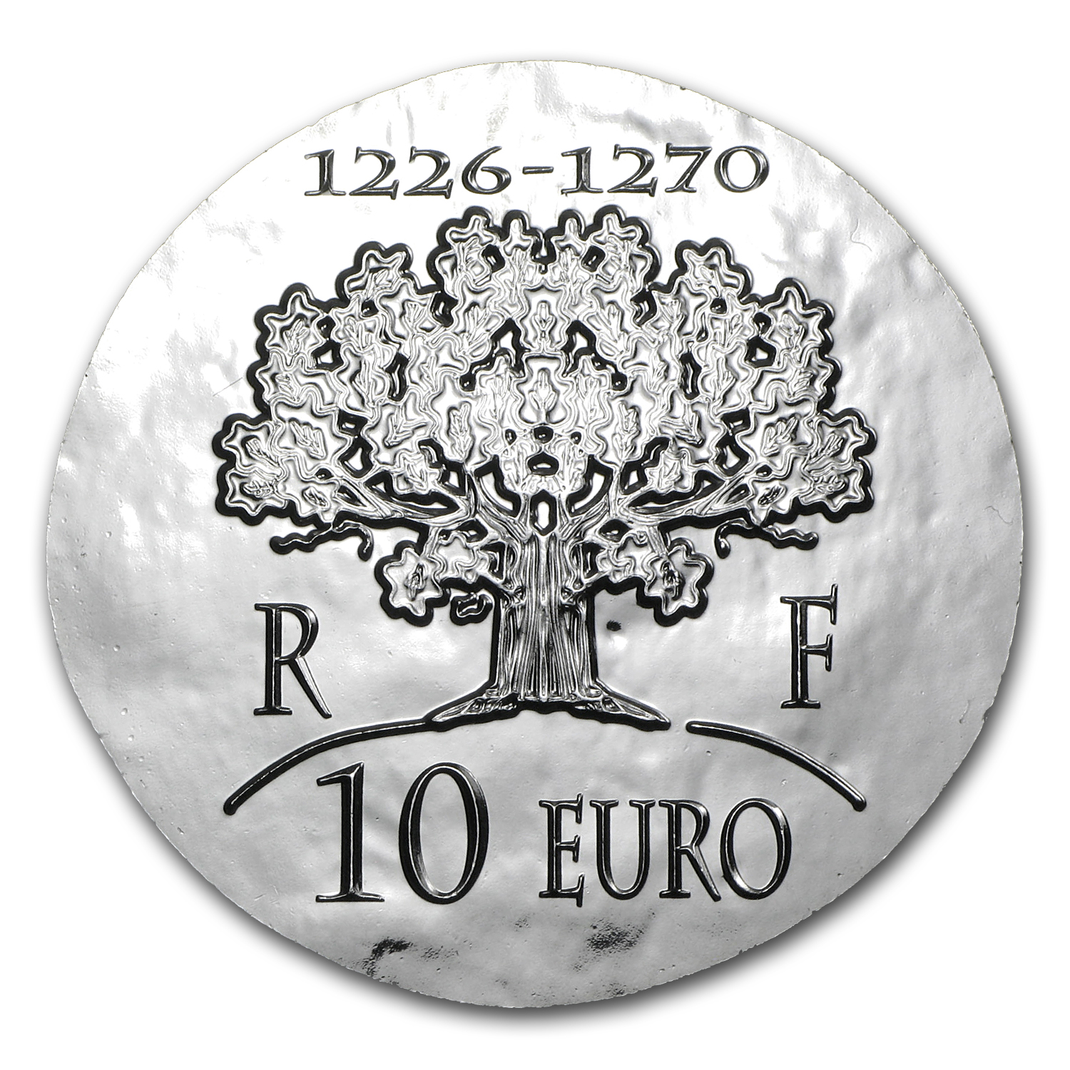 2012 France Silver €10 Legendary Collection Proof (Saint-Louis)
