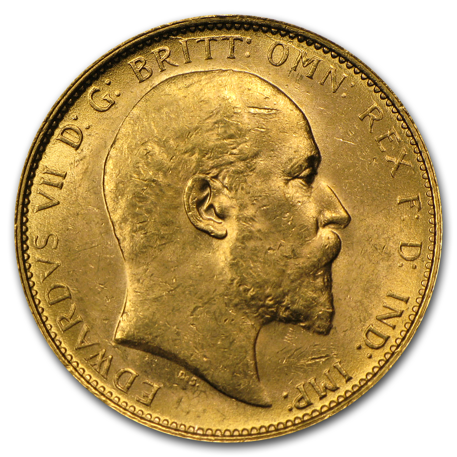 1910-S Australia Gold Sovereign Edward VII AU