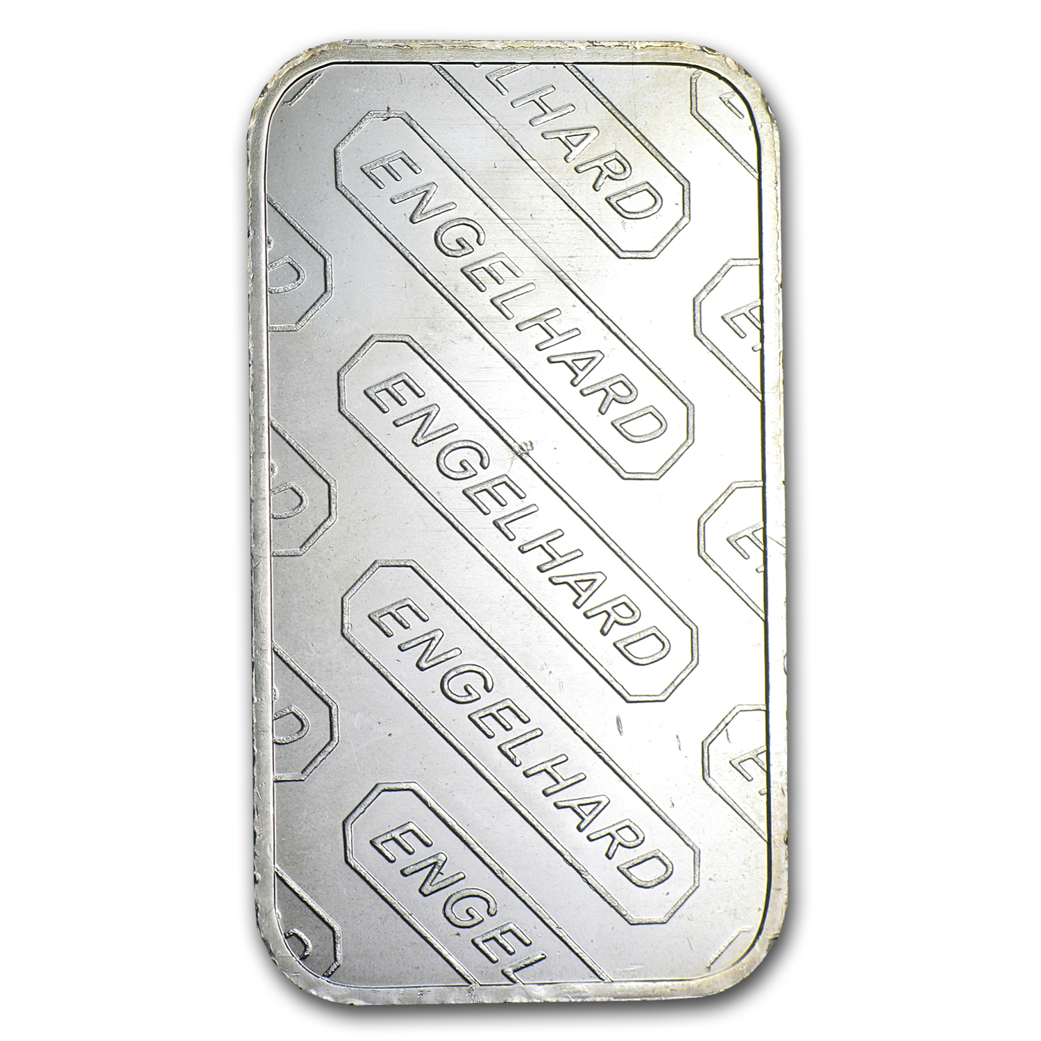 1 oz Silver Bar - Engelhard (Tall/'E' Logo)