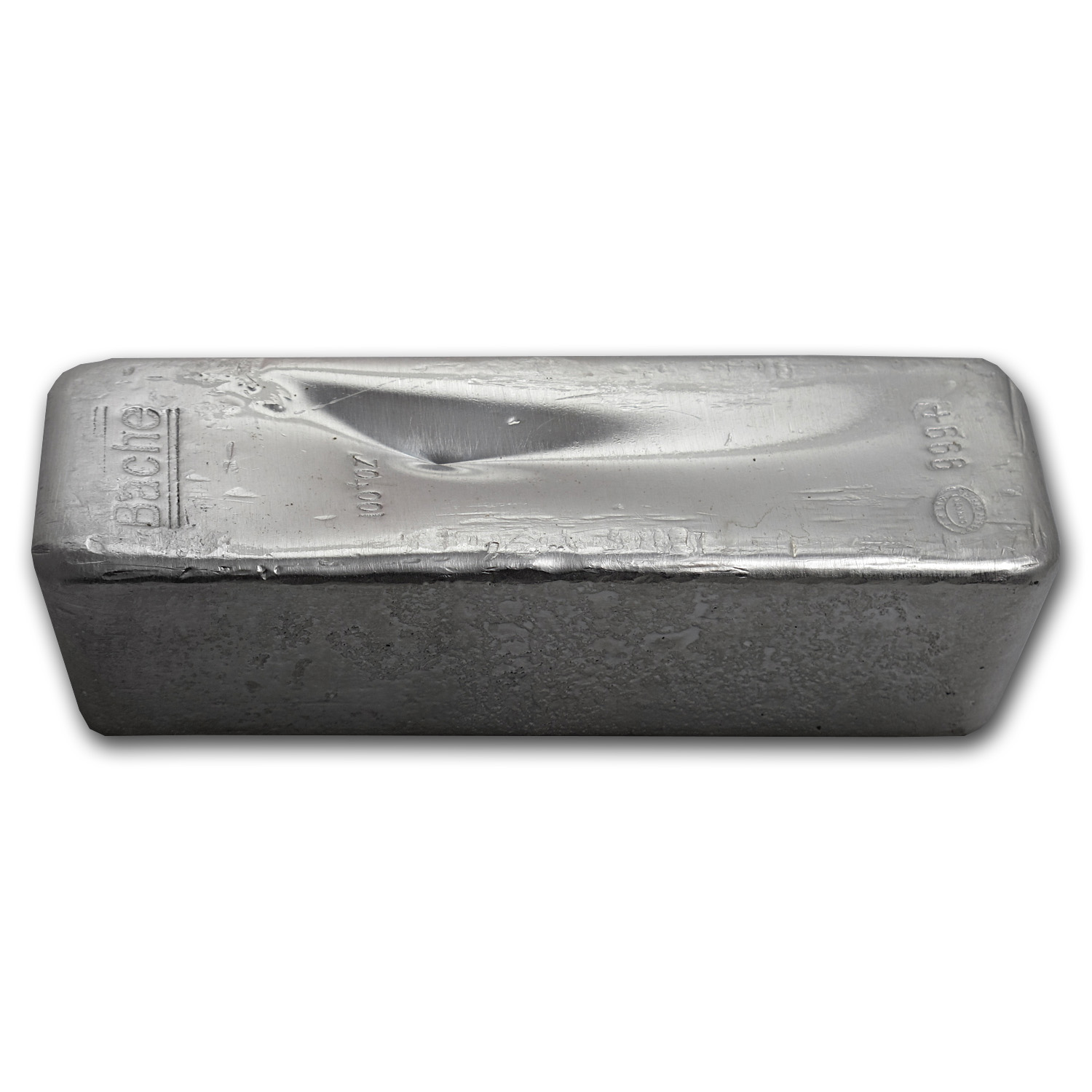 100 oz Silver Bar - Johnson Matthey (Bache)