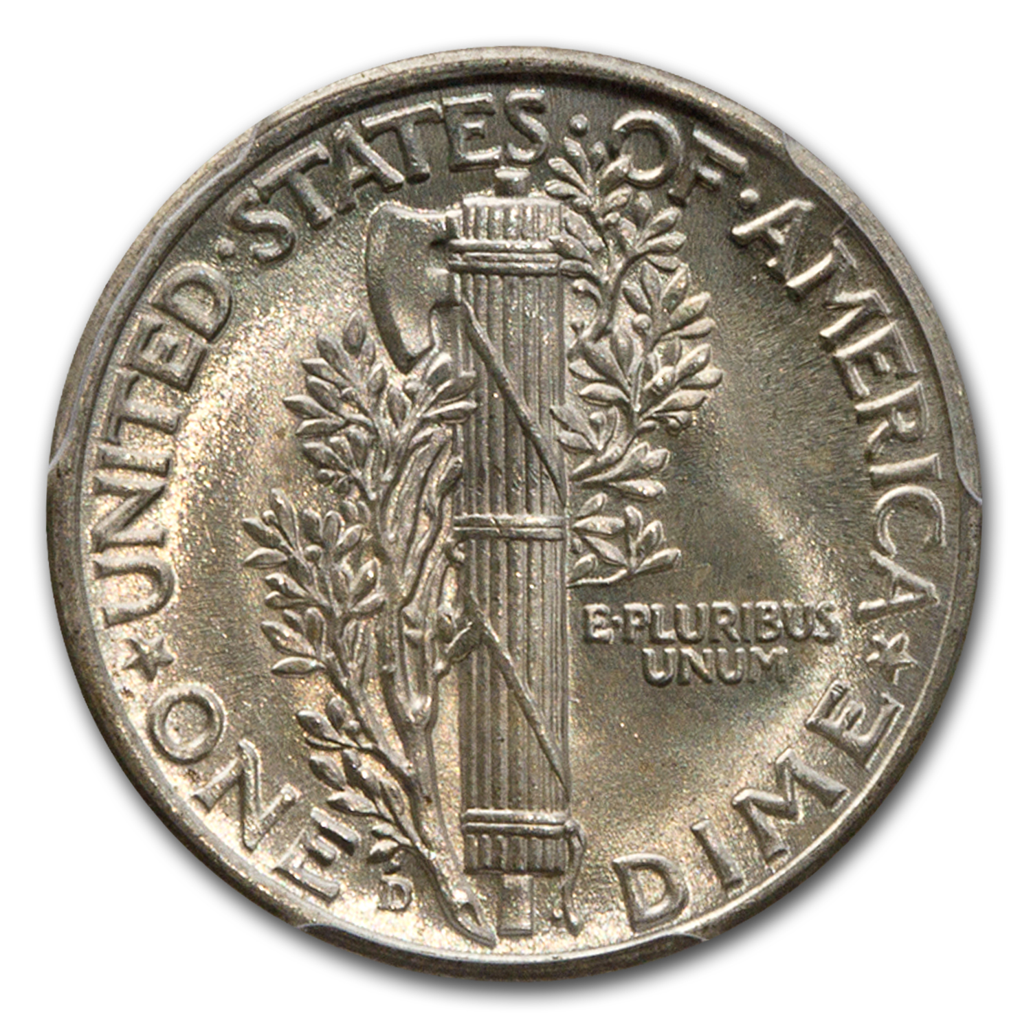 1943-D MS-64 PCGS - Mercury Dime