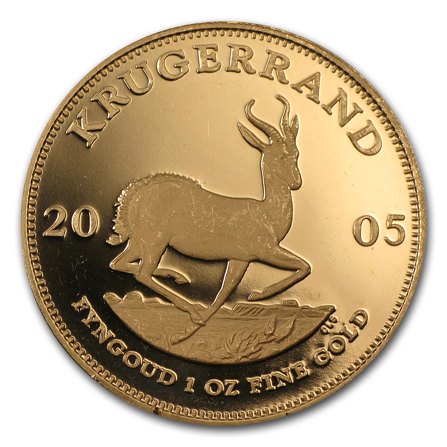 2005 1 oz Gold South African Krugerrand (Proof)