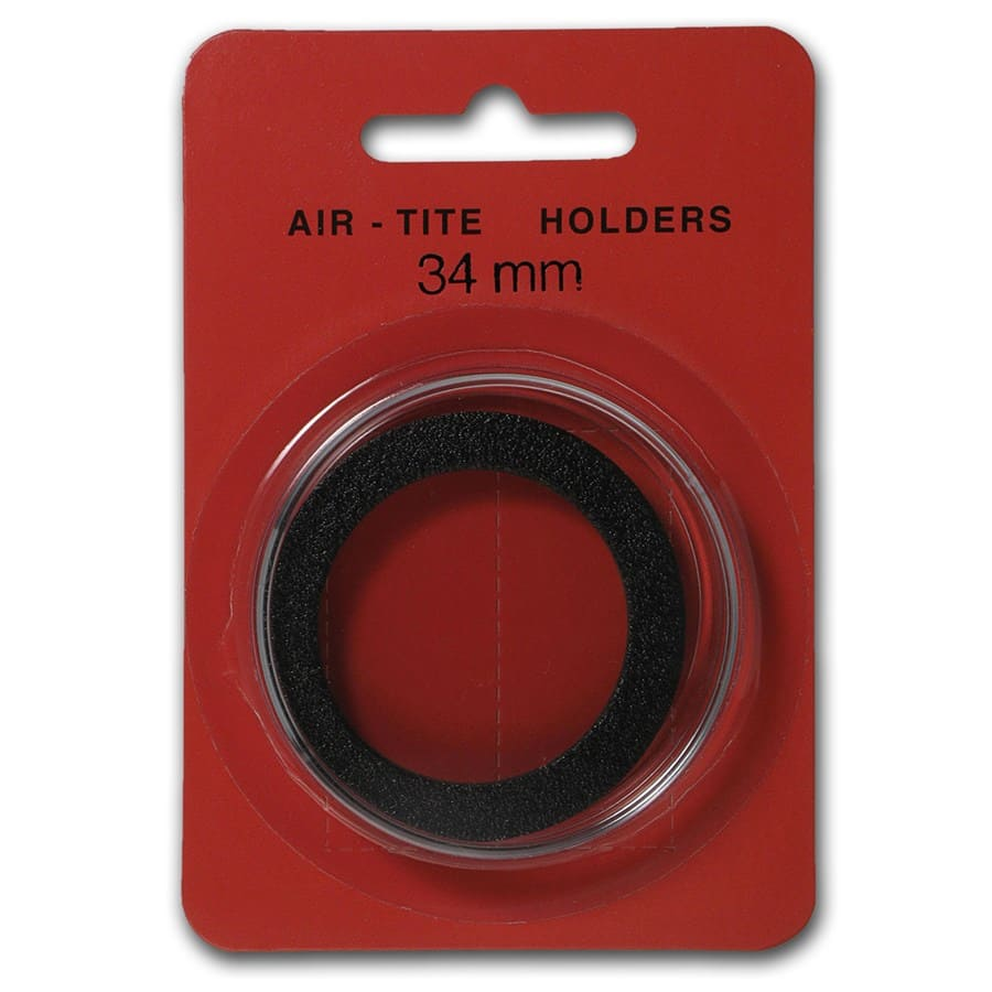 Air-Tite Holder w/Black Gasket - 34 mm