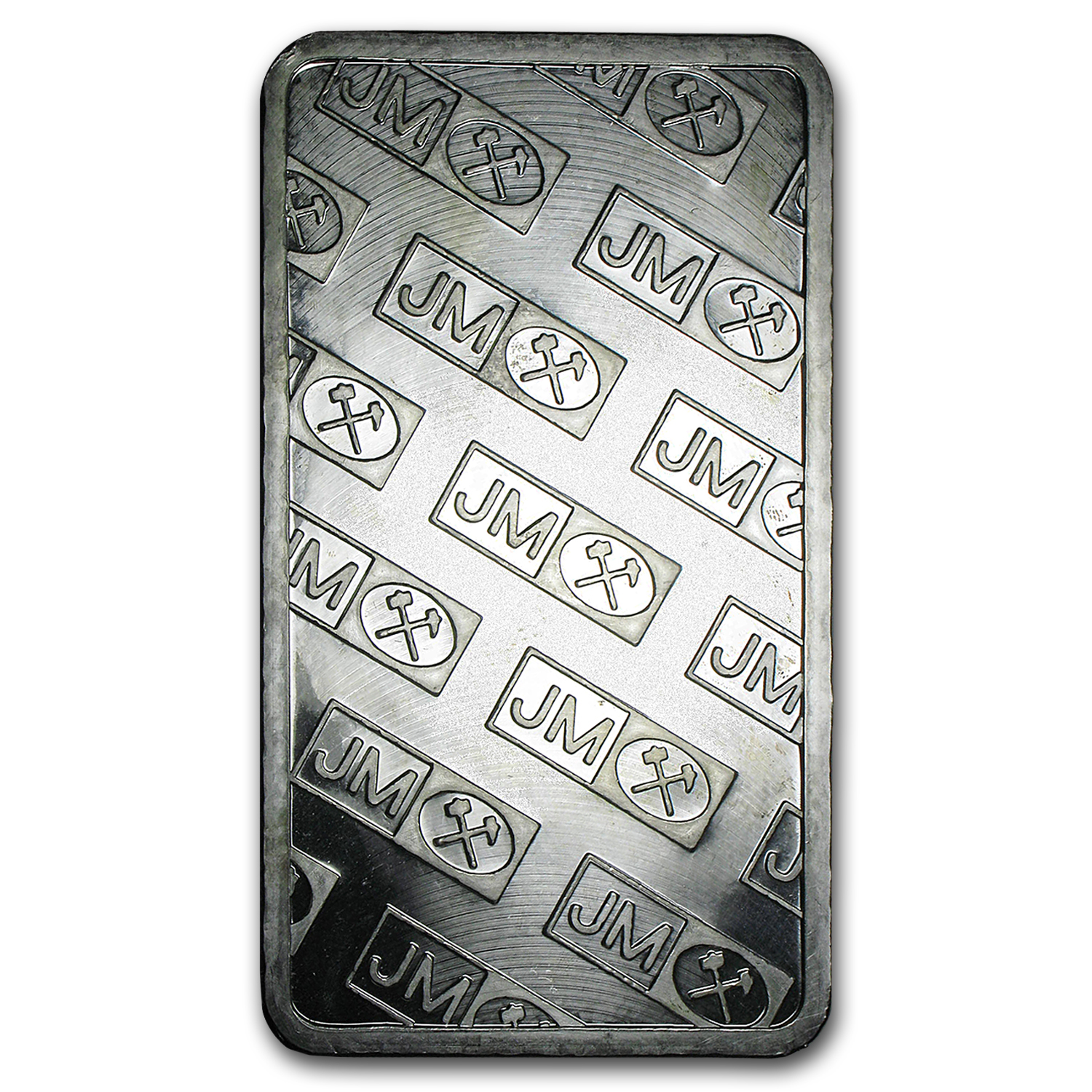 100 oz Silver Bars - Johnson Matthey (Pressed/Matching Serial #s)
