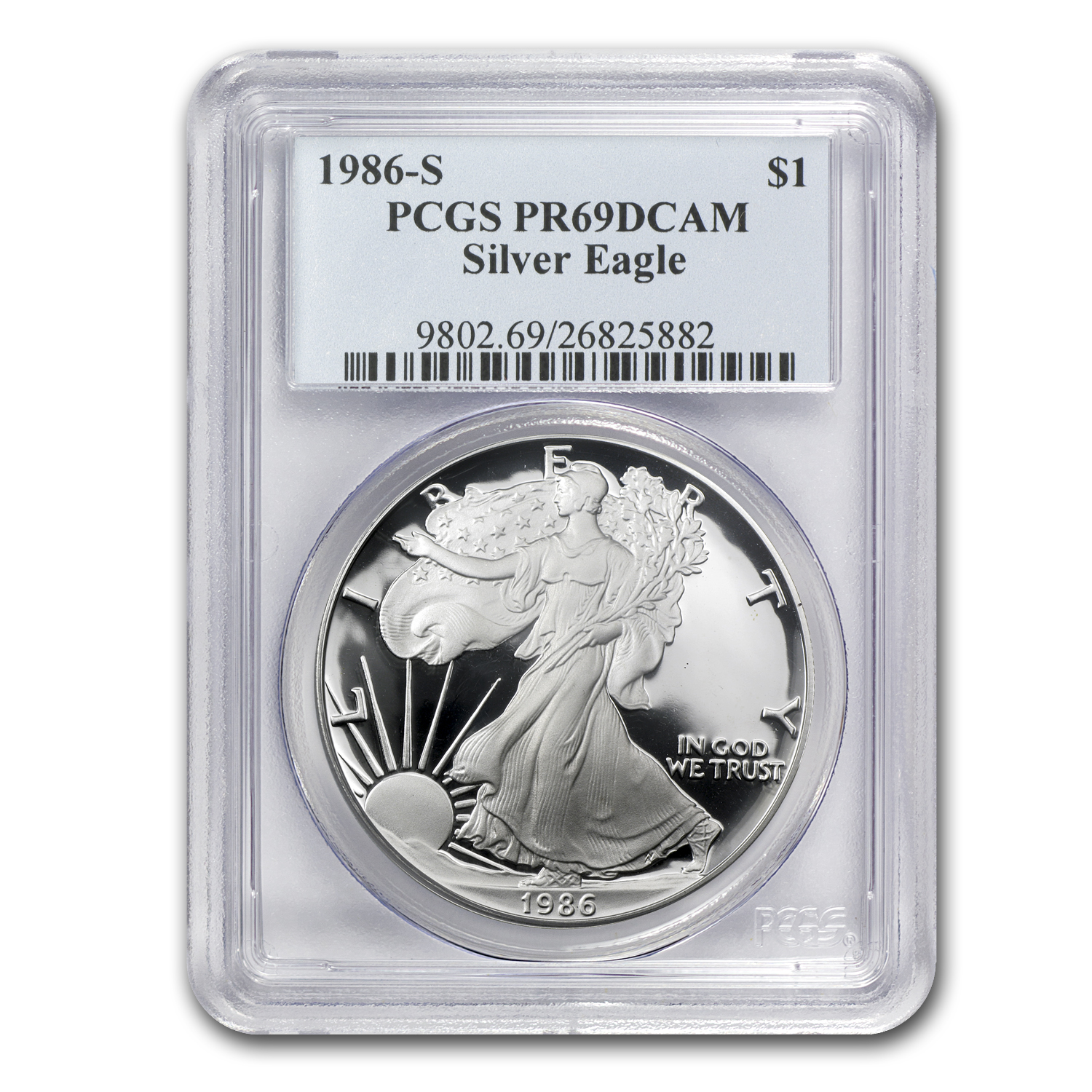 1986-2012 (Proof) Silver American Eagle Set PR-69 DCAM PCGS