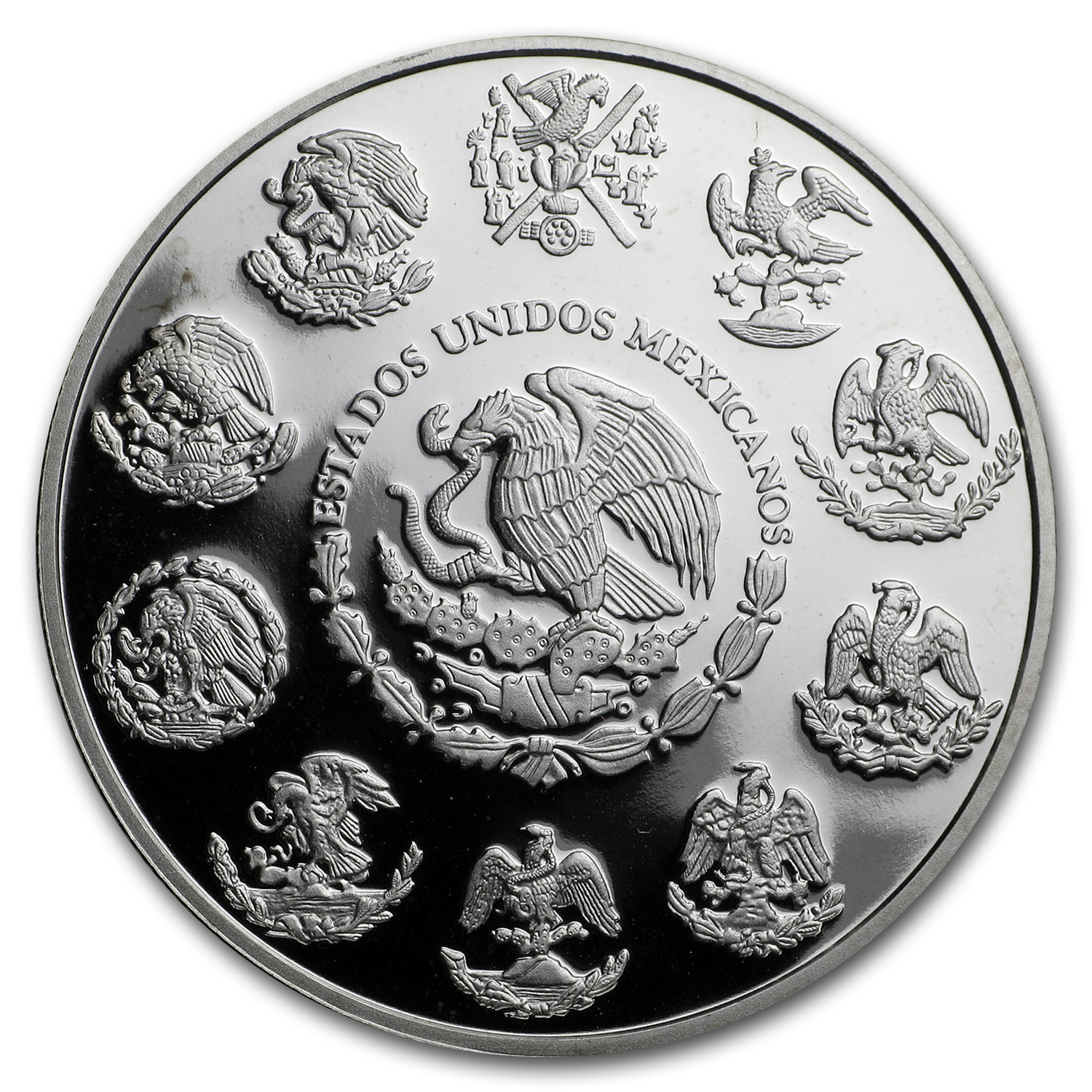 2012 Mexico 1 oz Silver Libertad Proof (In Capsule)