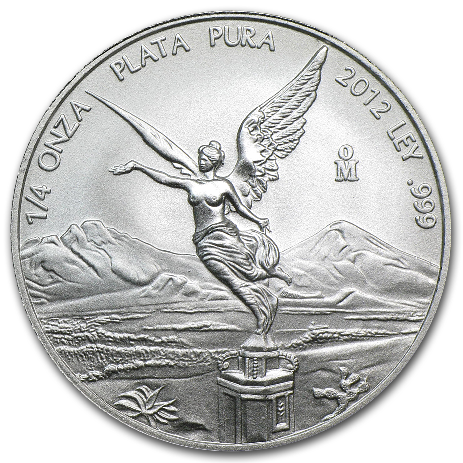 2012 1/4 oz Silver Libertad (Brilliant Uncirculated)