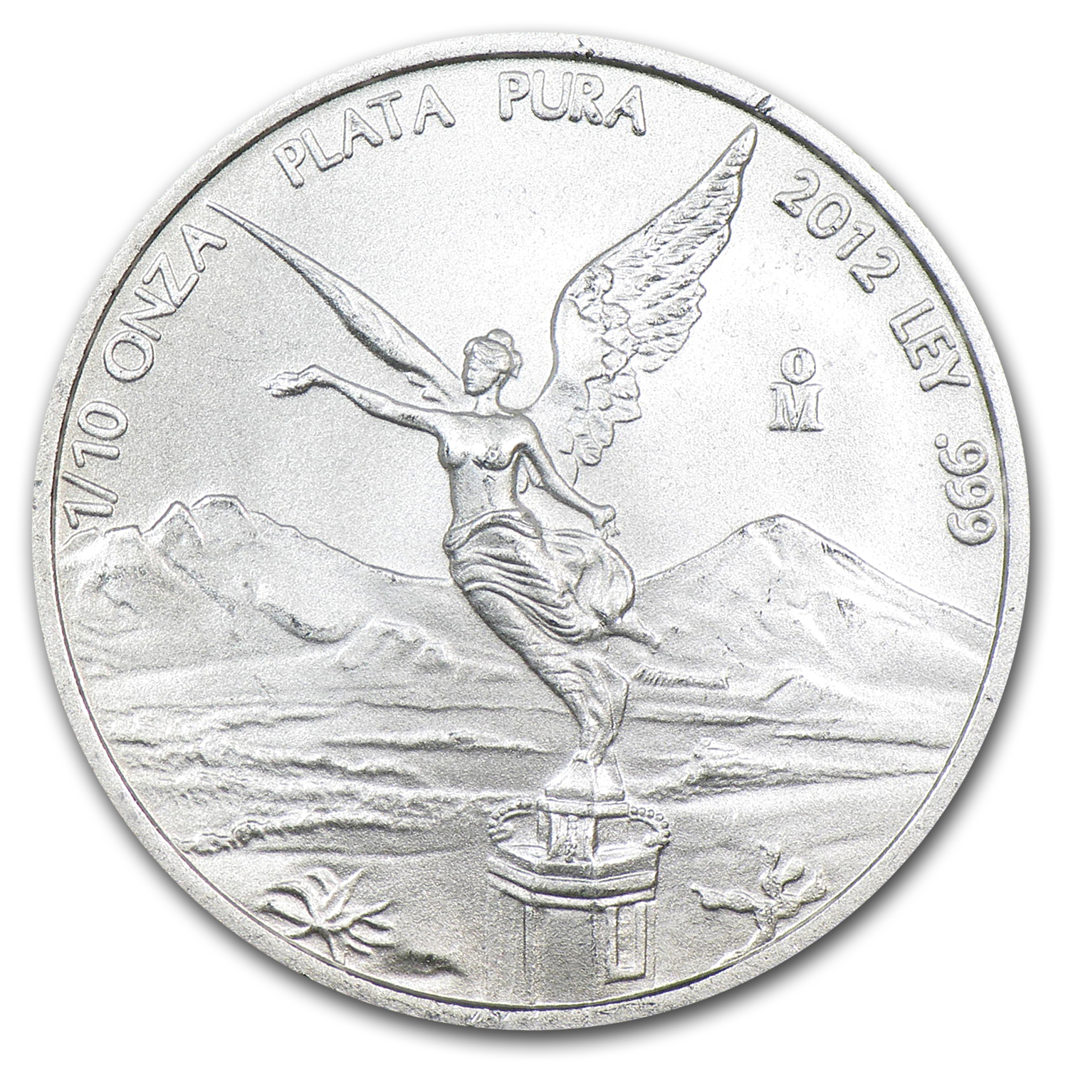 2012 1/10 oz Silver Libertad (Brilliant Uncirculated)