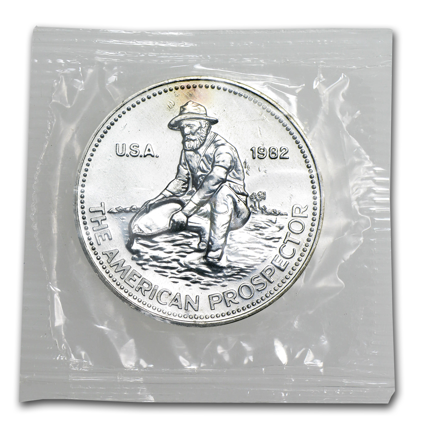 1 oz Silver Rounds - Engelhard Prospector (Sealed - Very Nice)