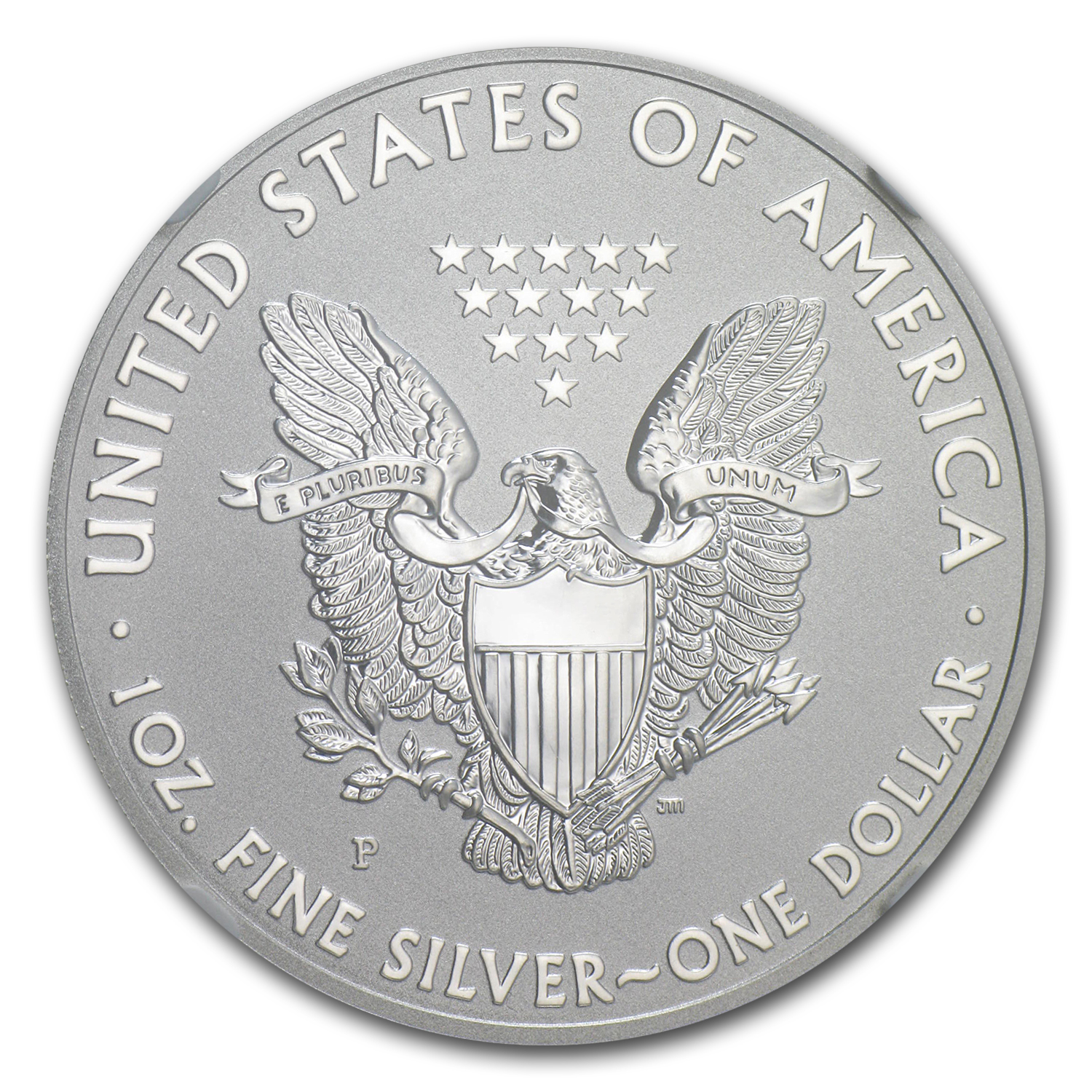 2011-P (Reverse Proof) Silver Eagle PF-70 NGC (ER)