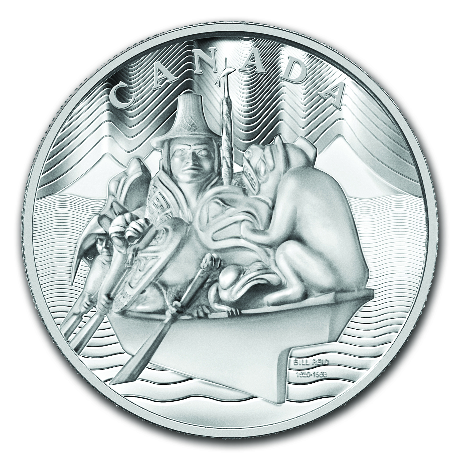 2012 Canada 5 kilo Silver $500 The Spirit of Haida Gwaii