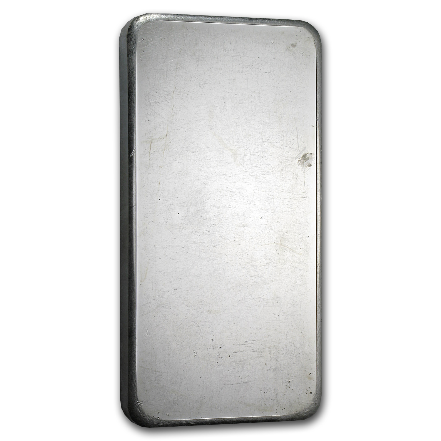 10 oz Silver Bars - Johnson Matthey (Pressed/Plain Back)