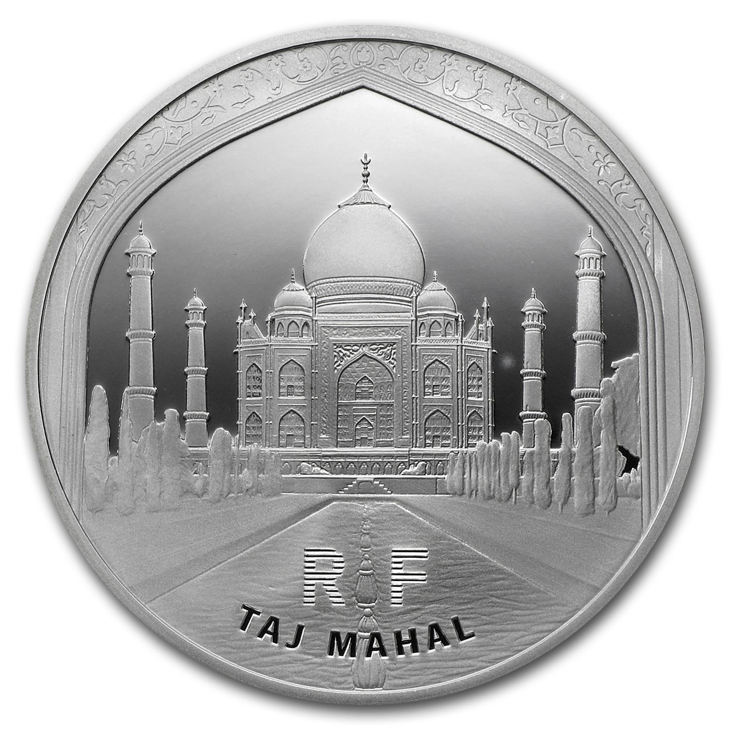 2010 10 Euro Silver Proof - UNESCO - Taj Mahal