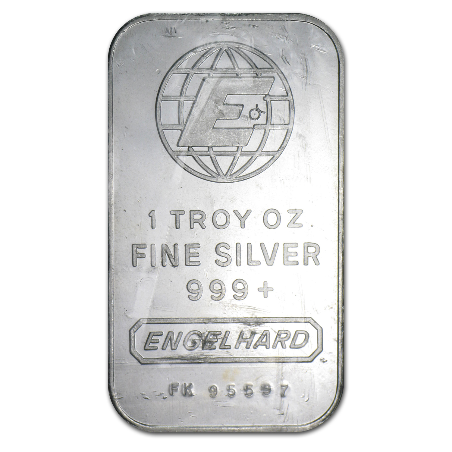 1 oz Silver Bar - Engelhard (Sealed/Very Nice)