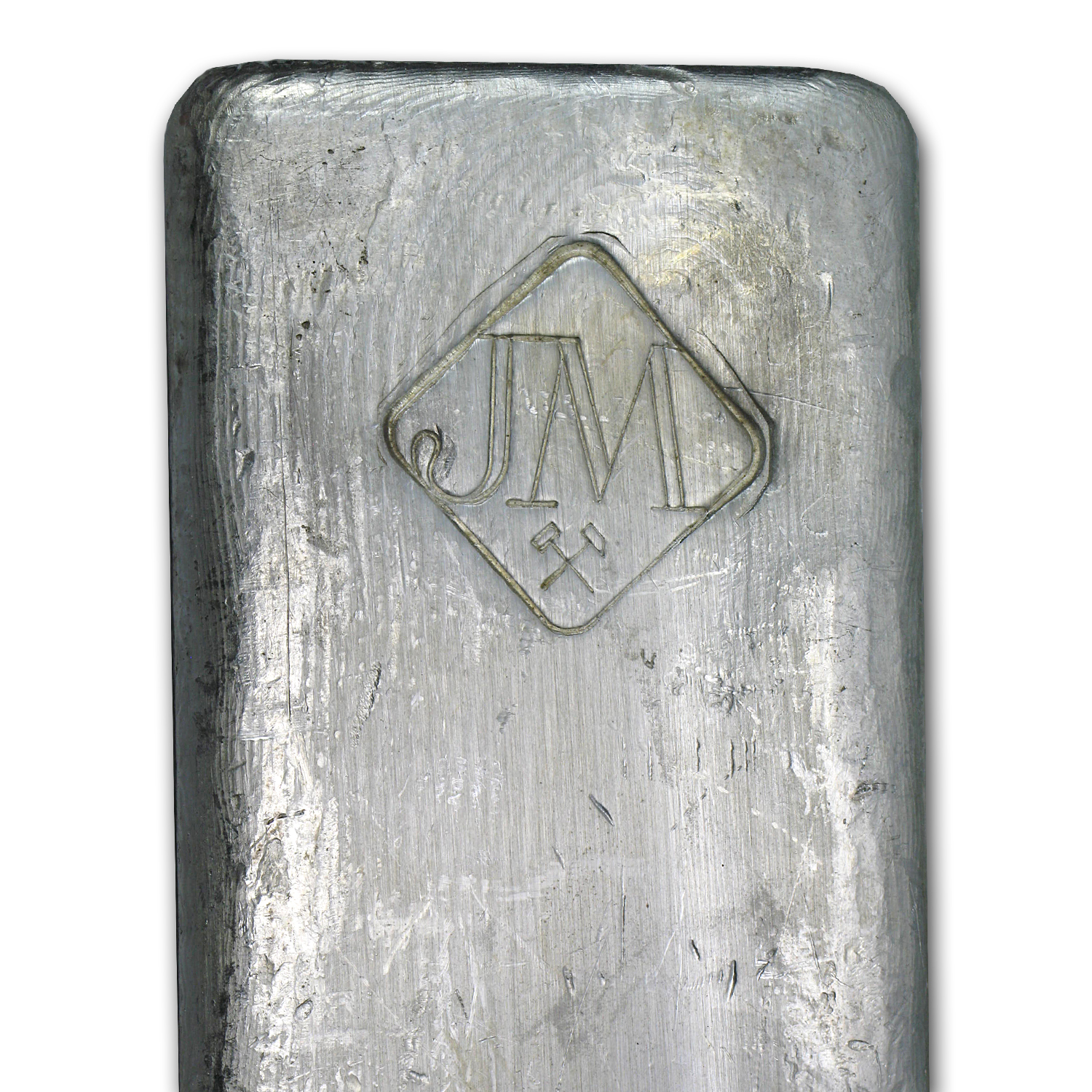 50 oz Silver Bar - Johnson Matthey (Canada, Vintage)