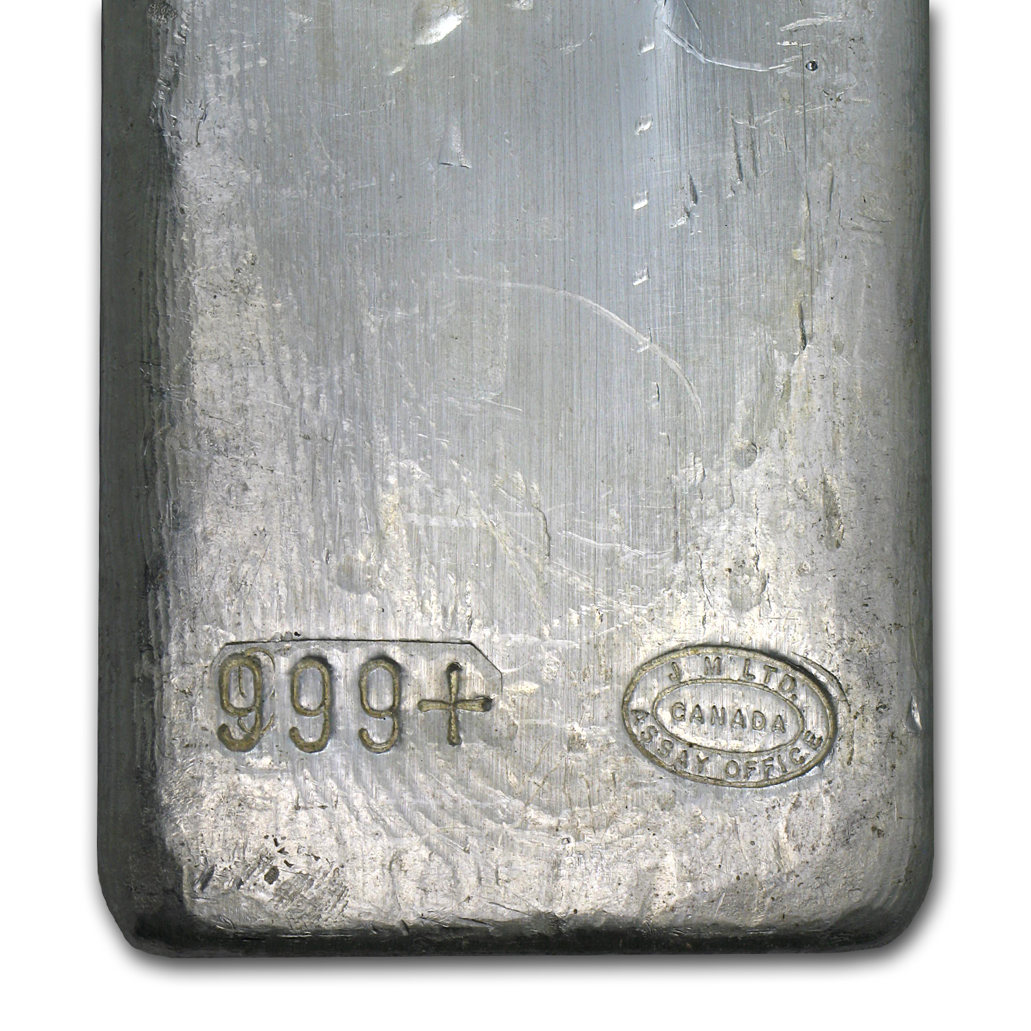 50 oz Silver Bar - Johnson Matthey (Canada/Vintage)