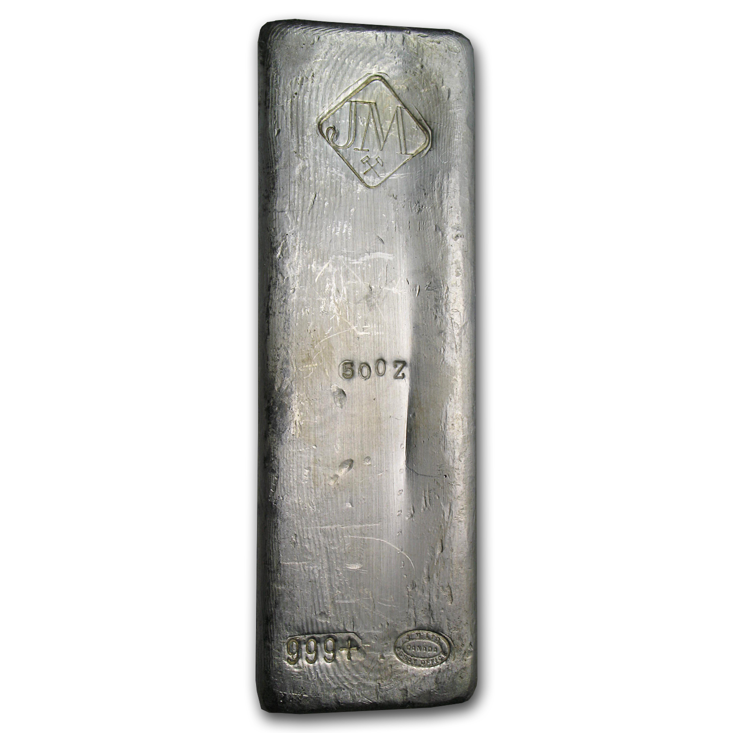 Buy Silver Johnson Matthey 50 Oz Silver Bars For Sale