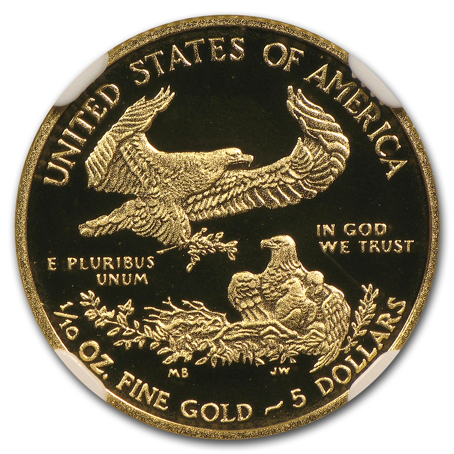 2012-W 1/10 oz Proof Gold American Eagle PF-70 NGC