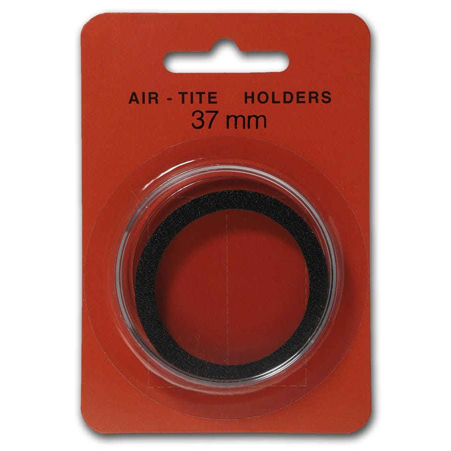Air-Tite Holder w/Black Gasket - 37 mm