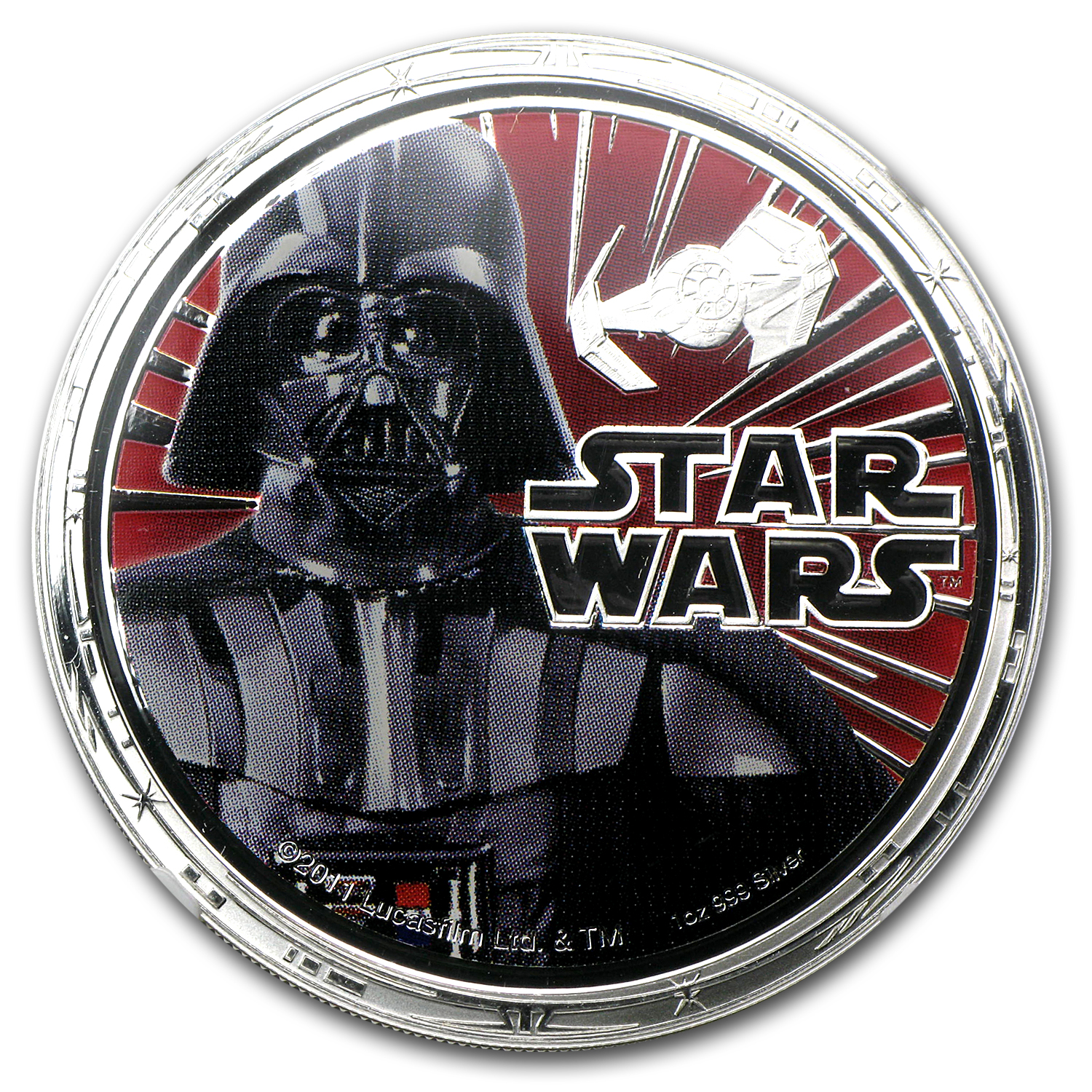 2011 Star Wars 1oz Silver PF-70 UCAM NGC - Darth Vader