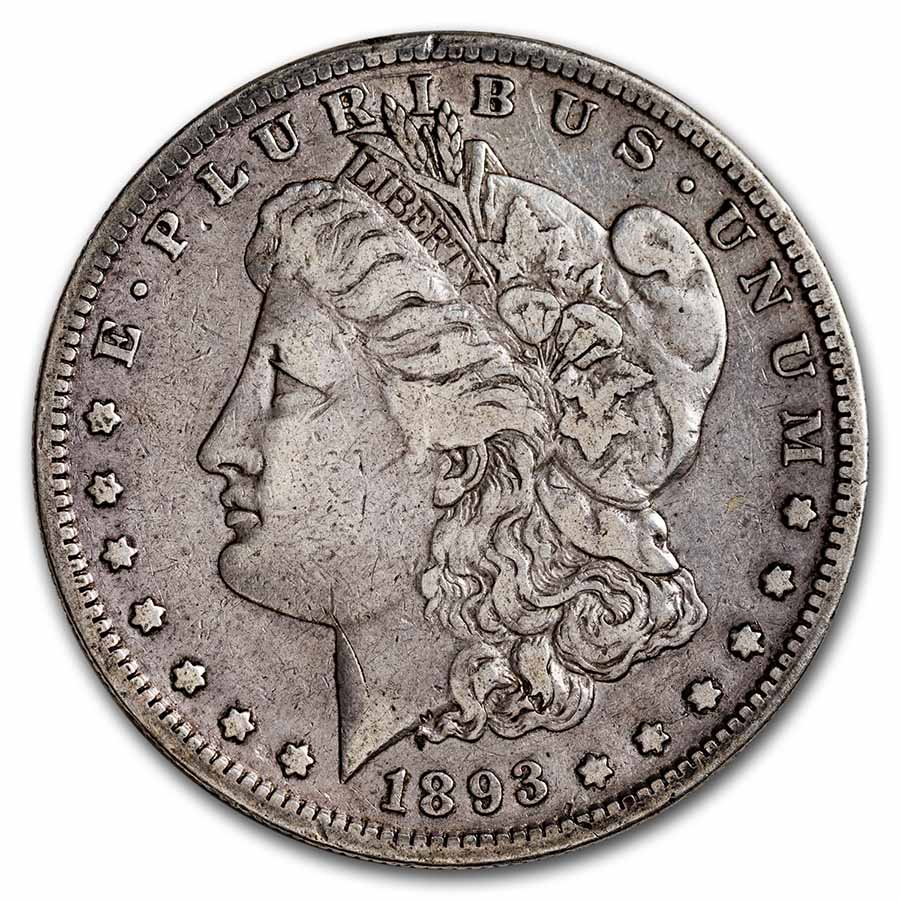 1893-S Morgan Dollar VF