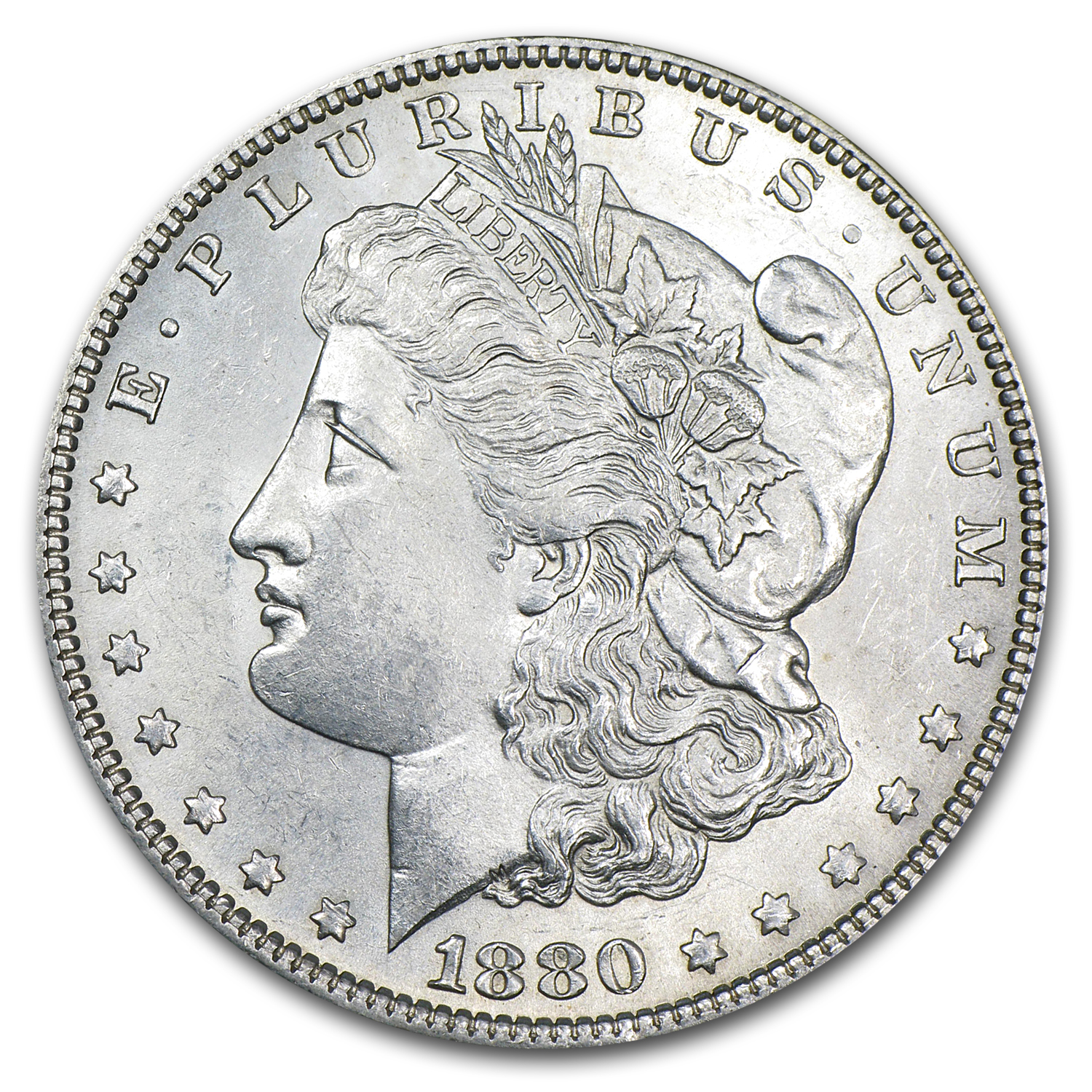 1880/79-O Morgan Dollar BU (VAM-4, Top-100)
