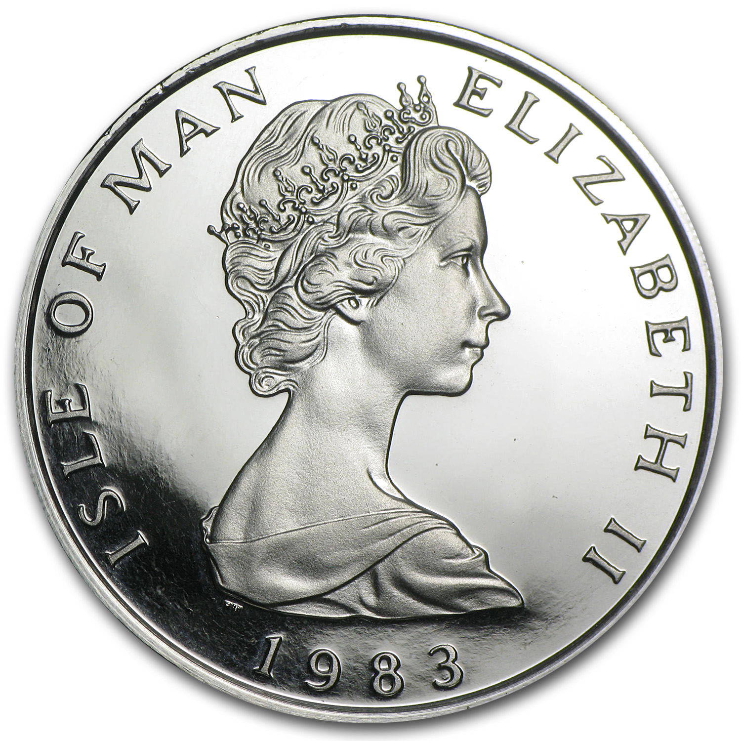 1983 1 oz Isle of Man Platinum Noble (Proof)