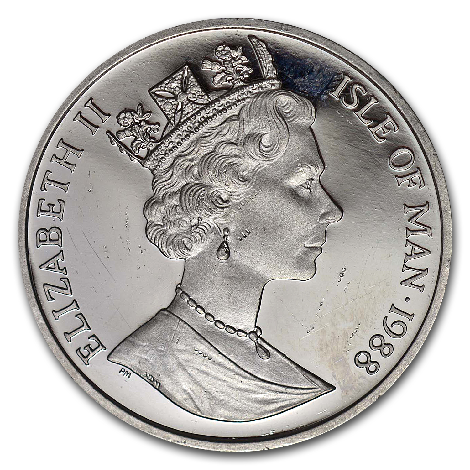 1988 1 oz Isle of Man Platinum Noble BU or Proof
