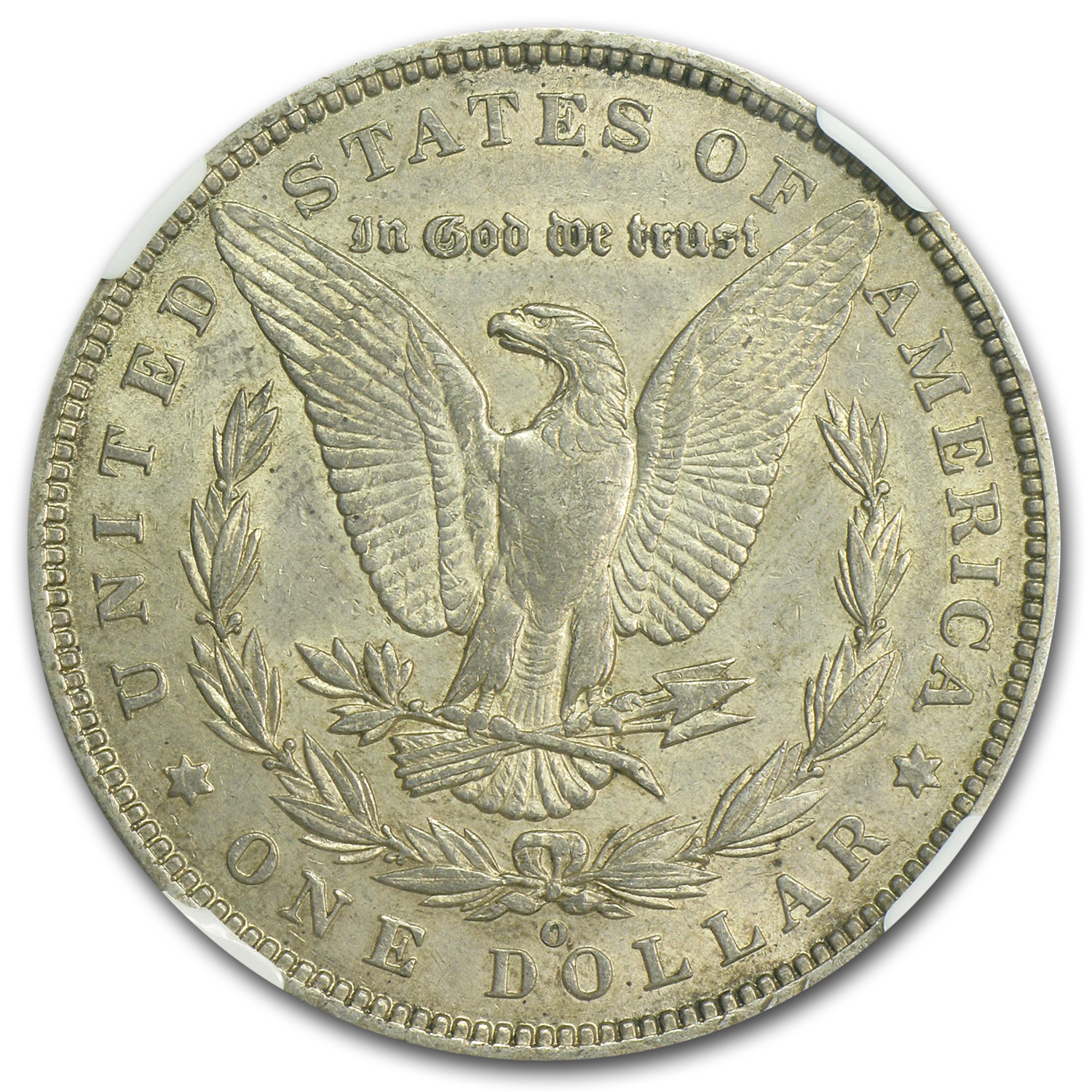 1888-O AU-53 NGC VAM-1B Early Die State of the Scarface Top-100