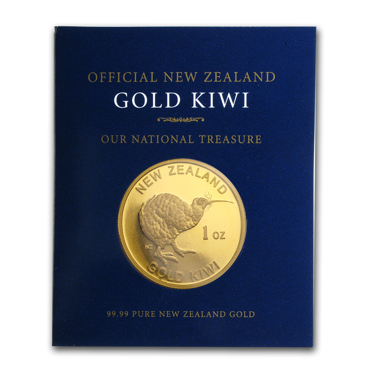1 oz New Zealand Gold .9999 Kiwi (W/ COA)