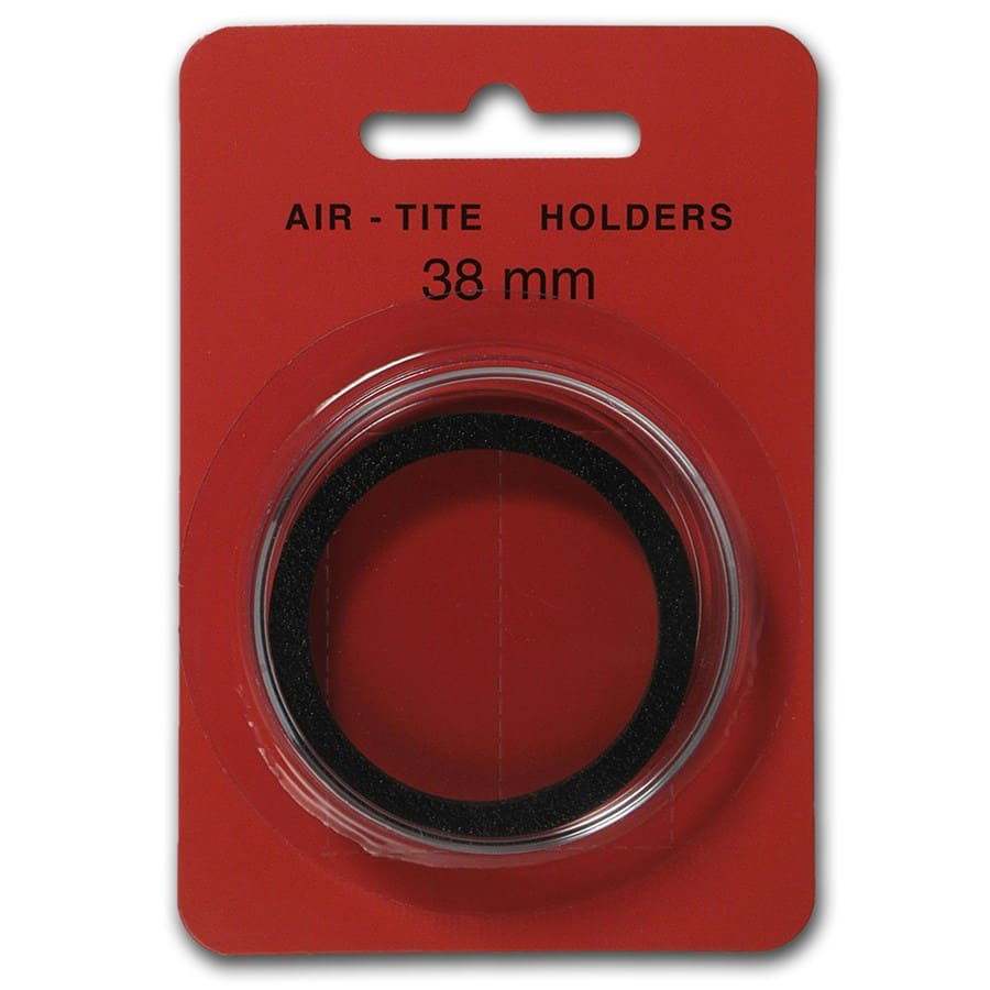 Air-Tite Holder w/ Black Gasket - 38 mm