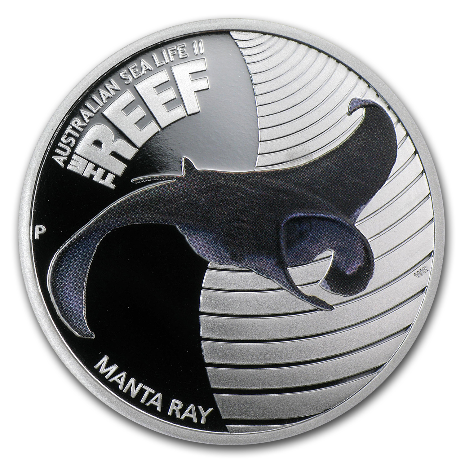 2012 Australia 1/2 oz Silver Manta Ray Proof
