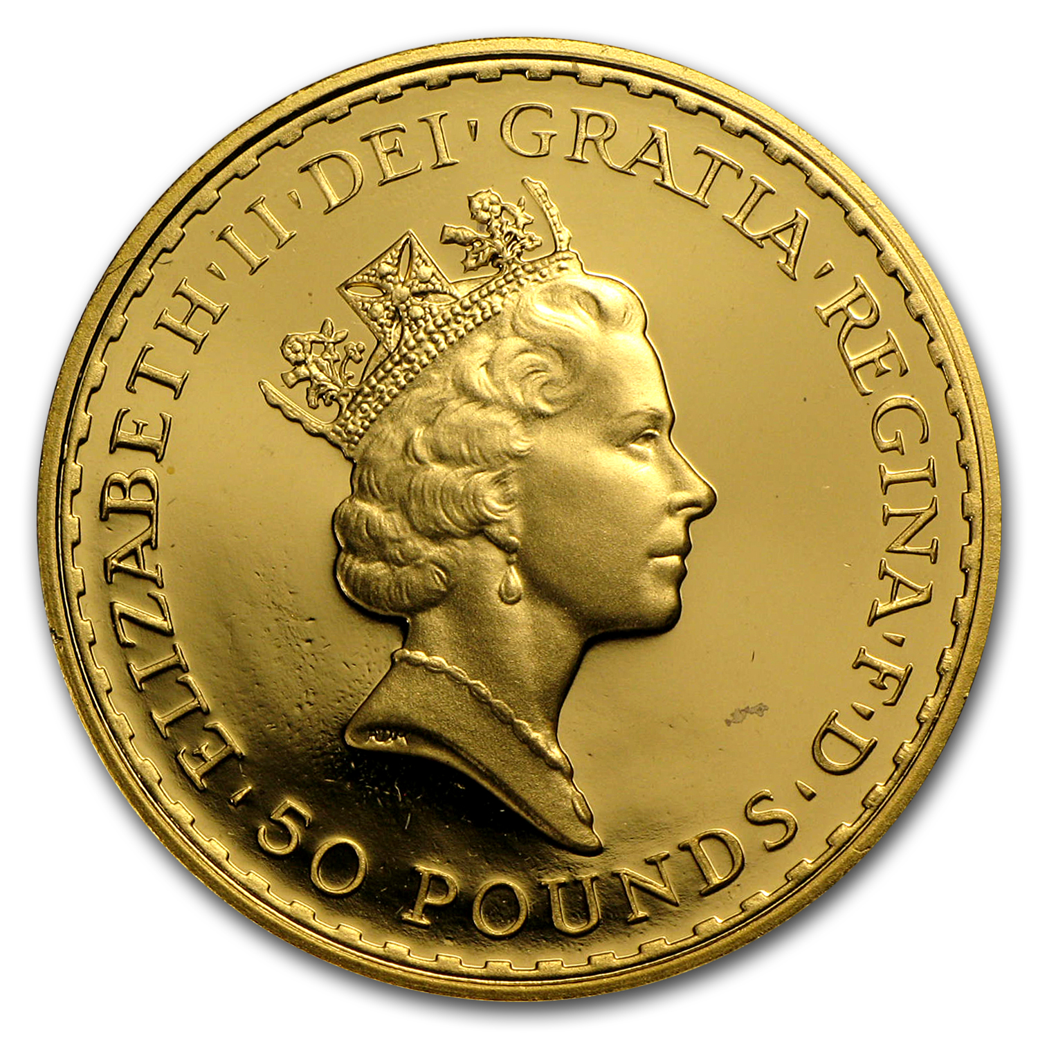 1996 Great Britain 1/2 oz Proof Gold Britannia